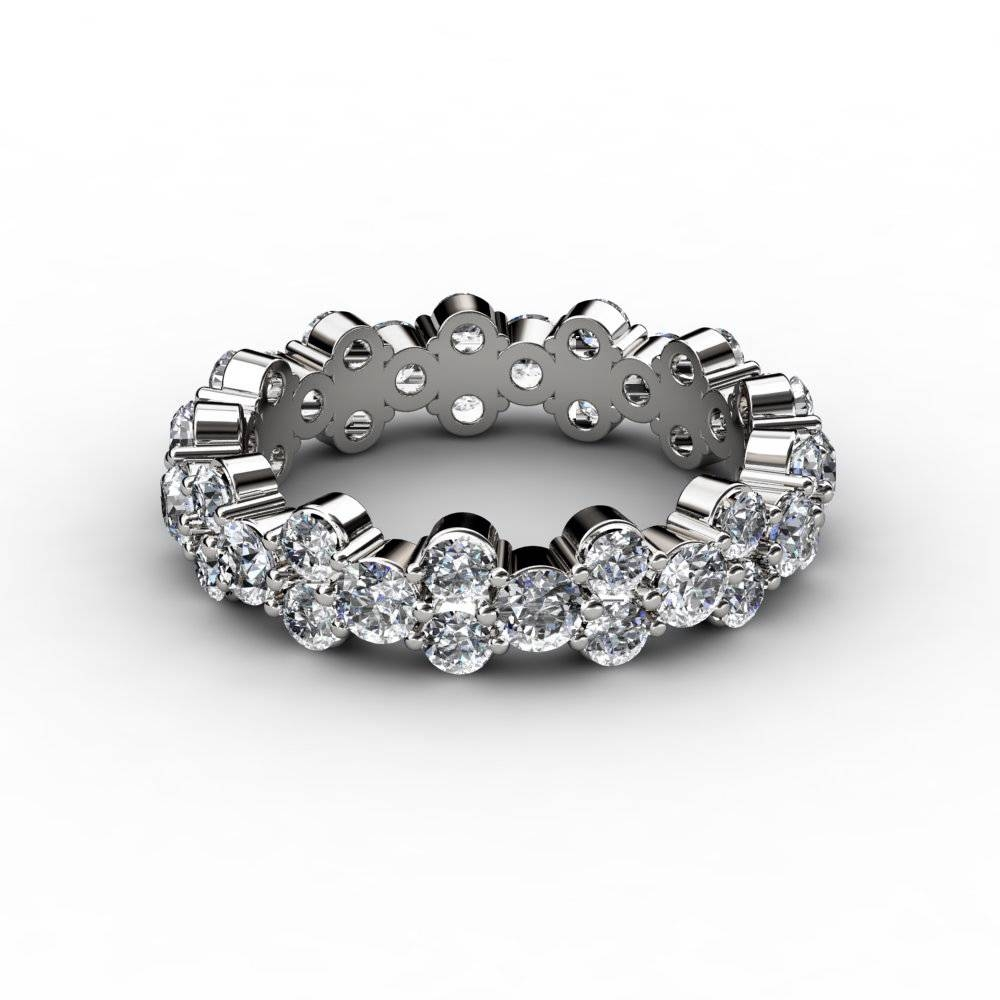 3 Ct Garland Diamond Eternity Anniversary Ring Throughout Most Recently Released Eternity Anniversary Rings (View 5 of 25)