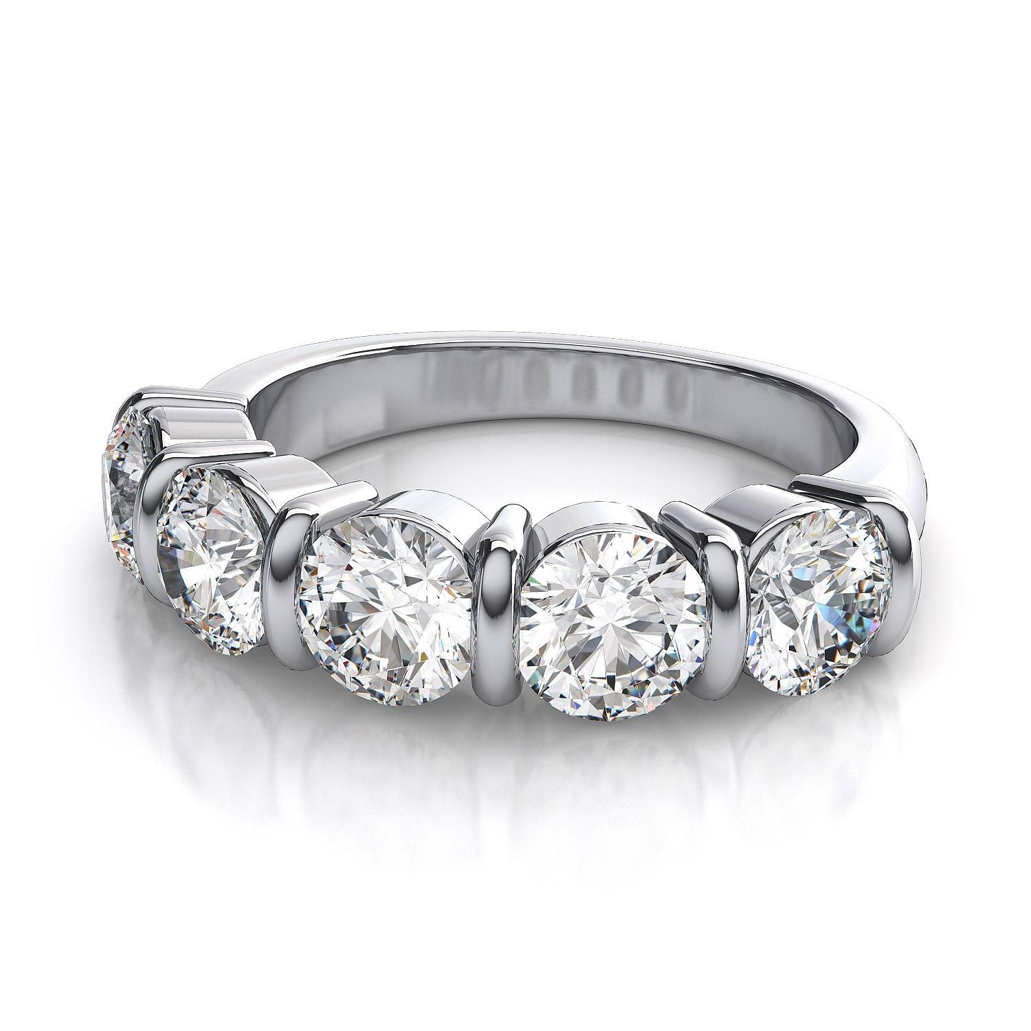 Anniversary Diamond Rings – Show Your Love Inside Most Up To Date 5 Stone Diamond Anniversary Rings (Gallery 16 of 25)
