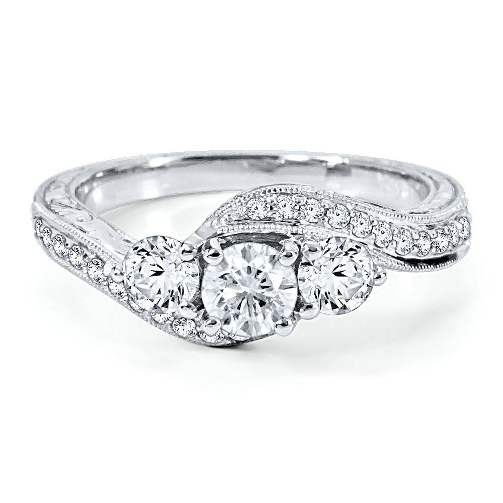 Anniversary Diamond Rings – Show Your Love Pertaining To Most Recently Released 3 Stone Diamond Anniversary Rings (View 4 of 25)