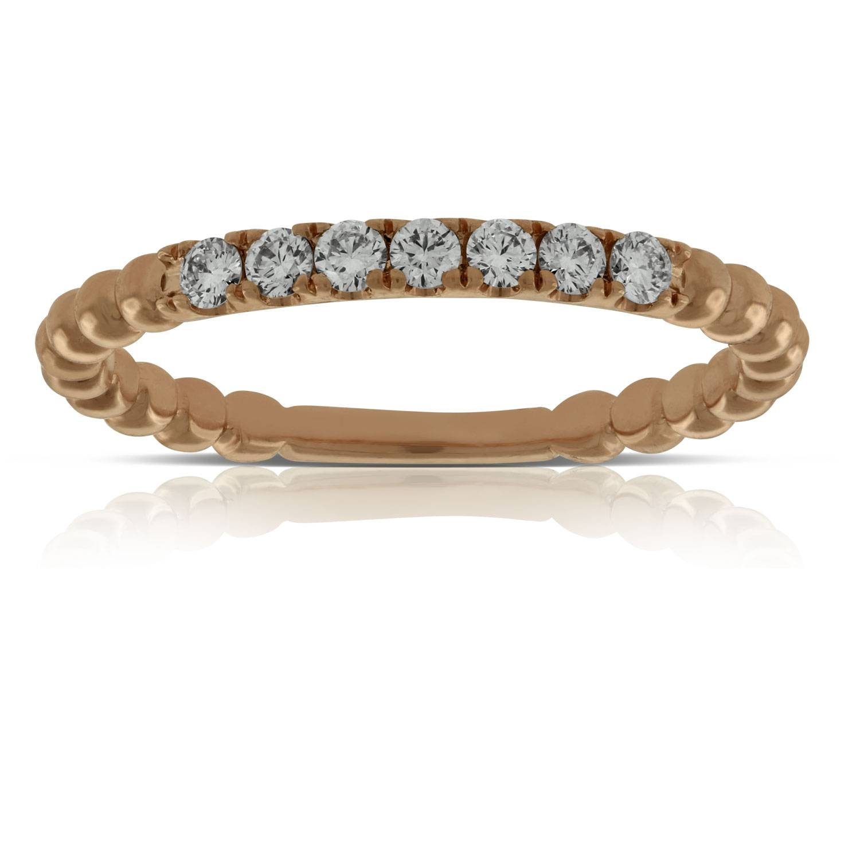 Anniversary Rings   Ben Bridge Jeweler Pertaining To Recent Rose Gold Anniversary Rings (View 4 of 25)