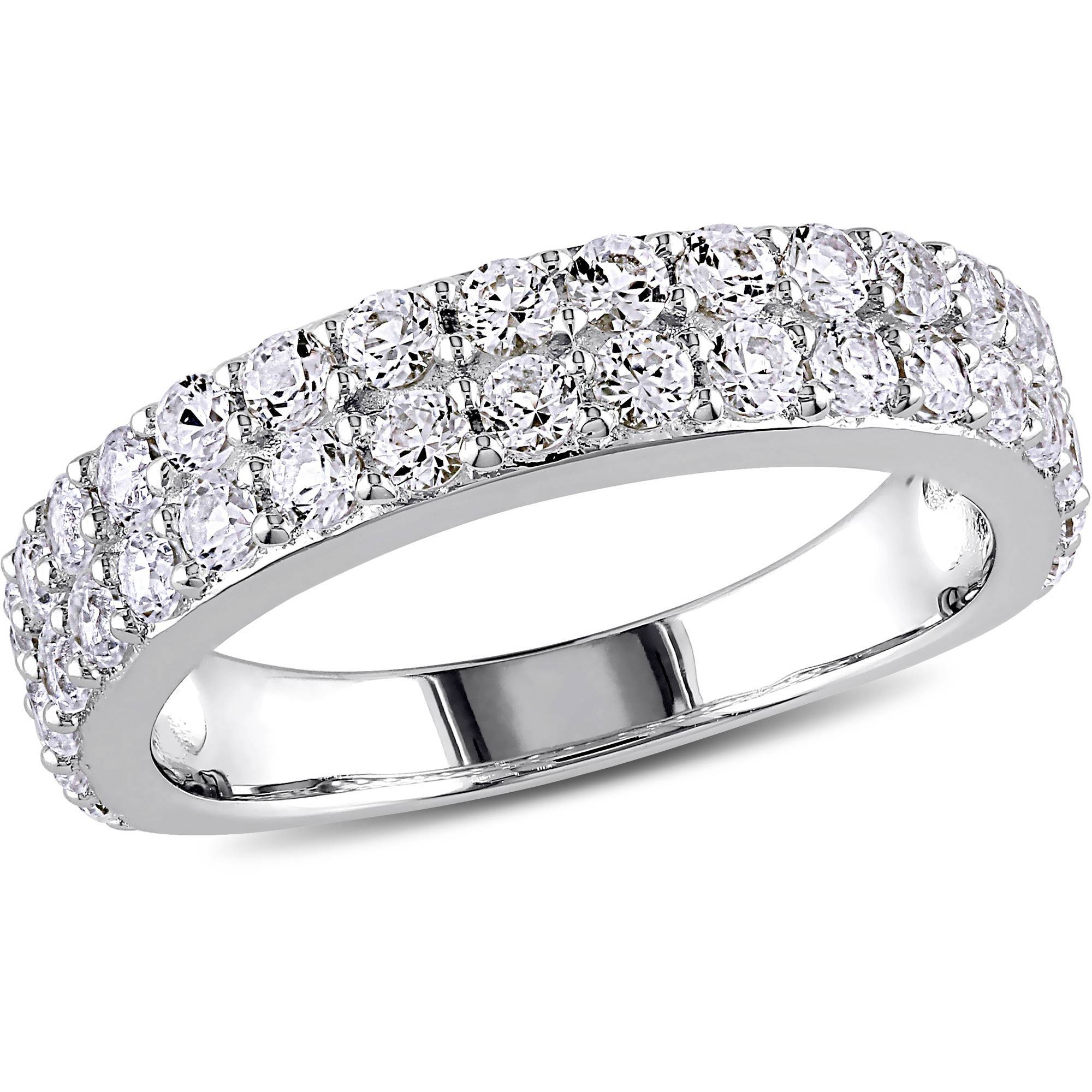 Anniversary Rings – Walmart Pertaining To Most Popular Silver Anniversary Rings (View 4 of 25)