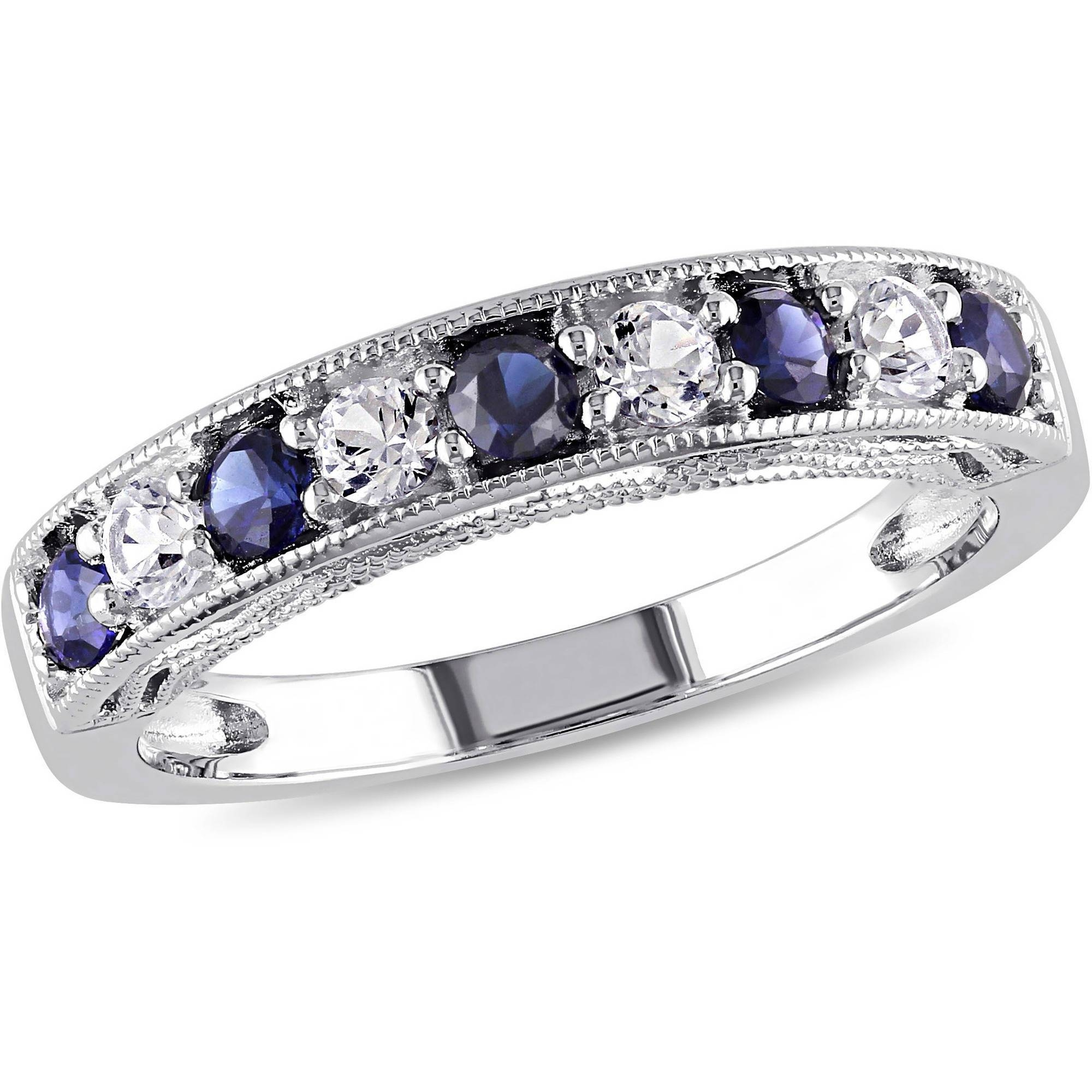 Anniversary Rings – Walmart Regarding Current Sapphire Anniversary Rings (View 4 of 25)