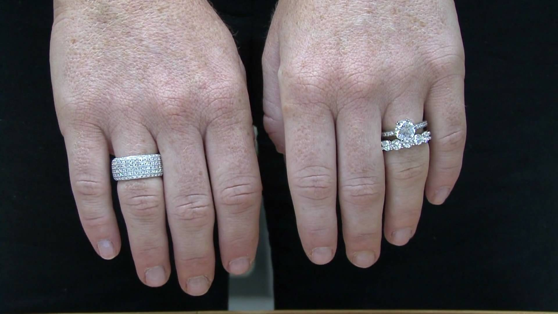 Anniversary Wedding Bandsronnie Mervis – Youtube With Regard To Most Current 20Th Anniversary Rings (View 4 of 15)