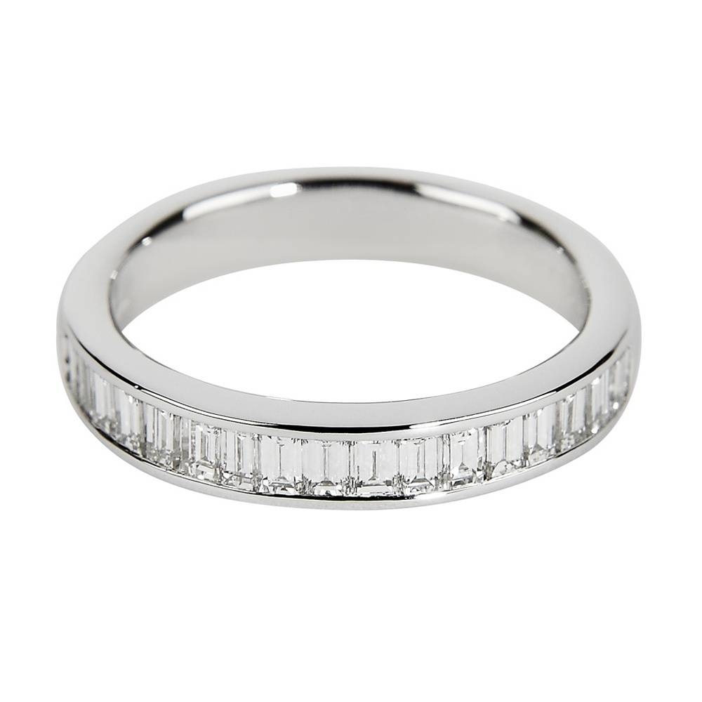 Baguette Cut Berry's Eternity Rings Throughout Newest Baguette Anniversary Rings (View 8 of 25)