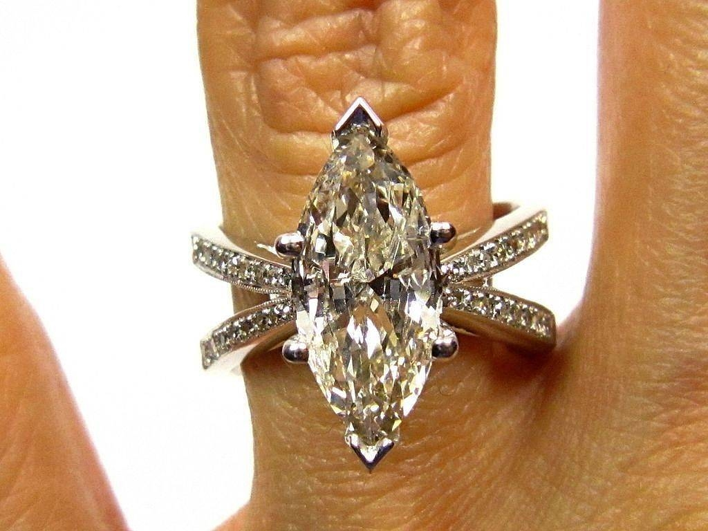 Best Estate Marquise Diamond Rings  (View 4 of 25)