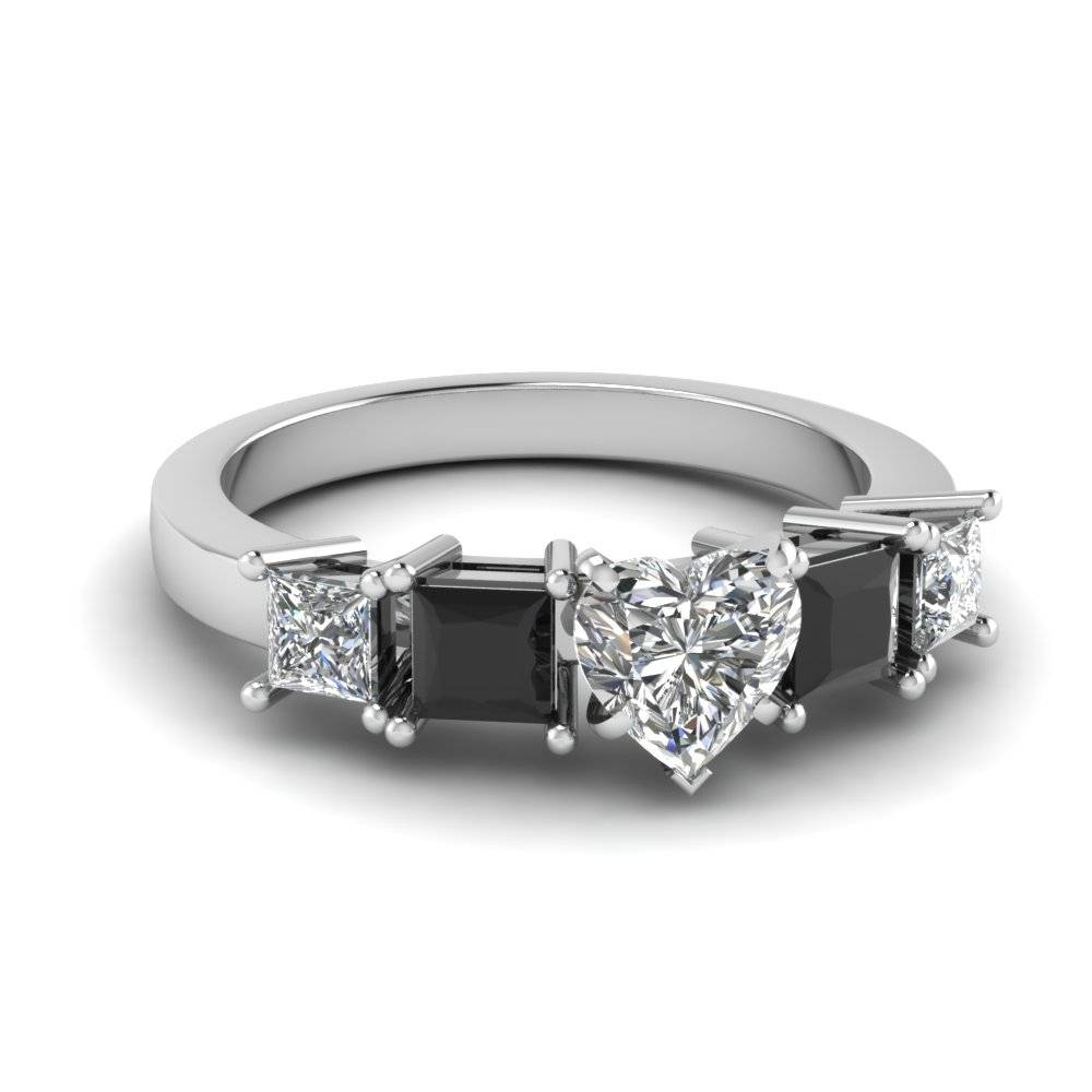 Buy Classy Black Diamond Engagement Rings Online | Fascinating With Regard To Newest Black Diamond Anniversary Rings (View 10 of 25)