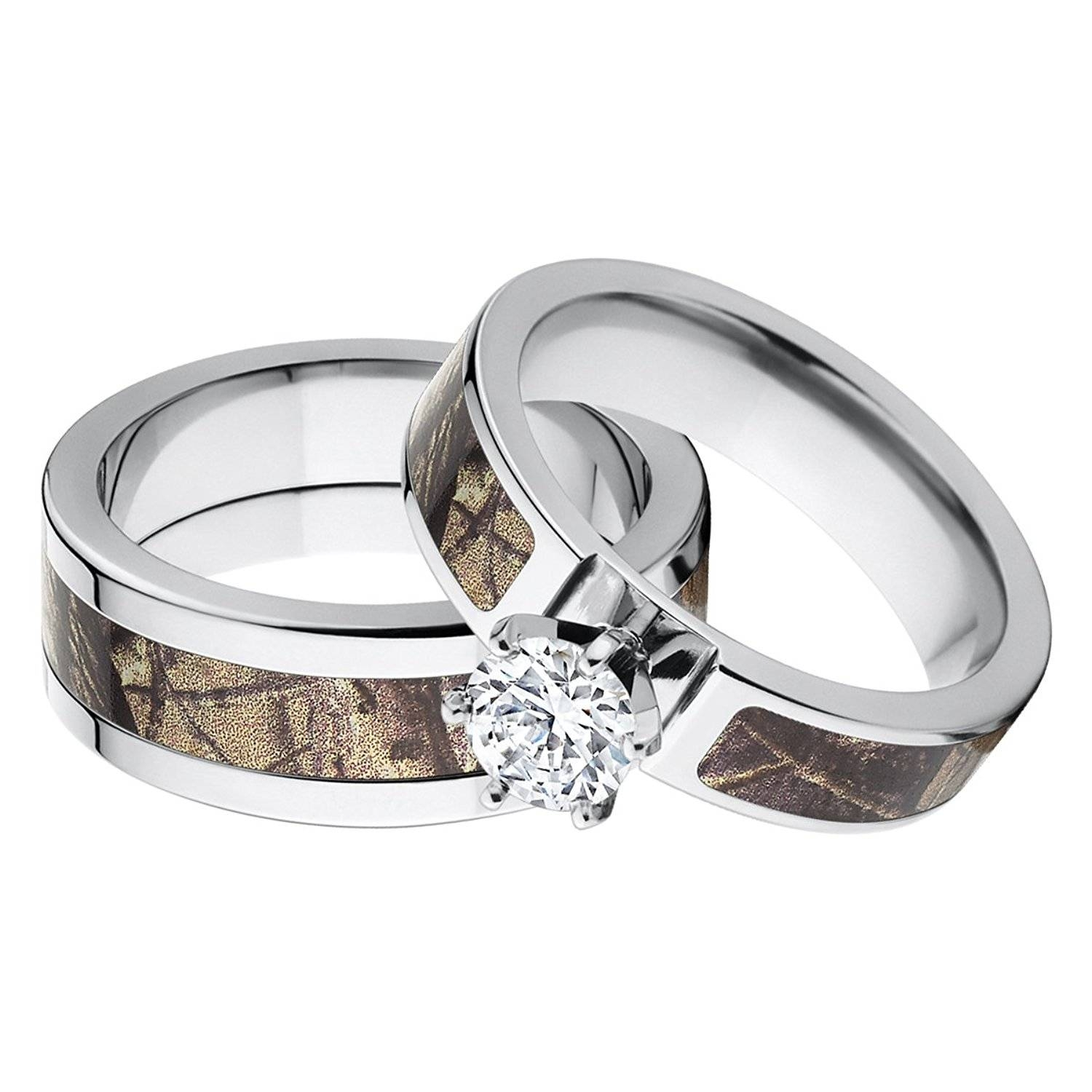 Camo Wedding Ring Sets For Him And Her – 2017 Creative Wedding With 2018 Camo Anniversary Rings (View 7 of 25)