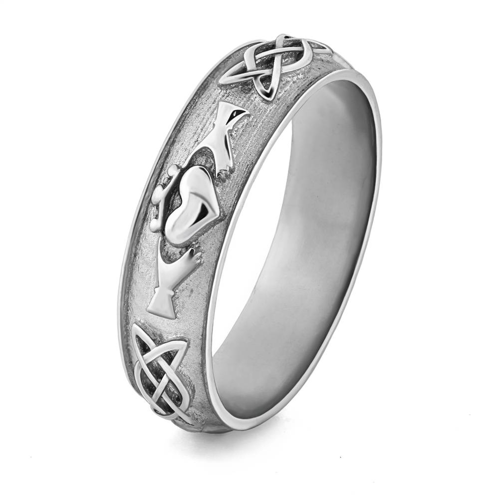 Celtic Wedding Anniversary Rings – Celtic Wedding Rings: Great Inside Most Up To Date Silver Anniversary Rings (View 7 of 25)