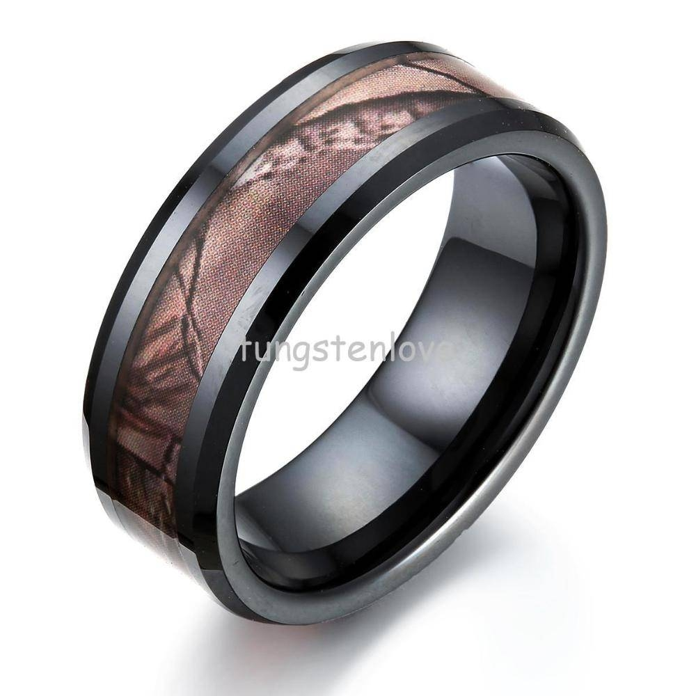 Cheap Black Ceramic Wedding Band, Find Black Ceramic Wedding Band With Regard To 2017 Camo Anniversary Rings (Gallery 4 of 25)