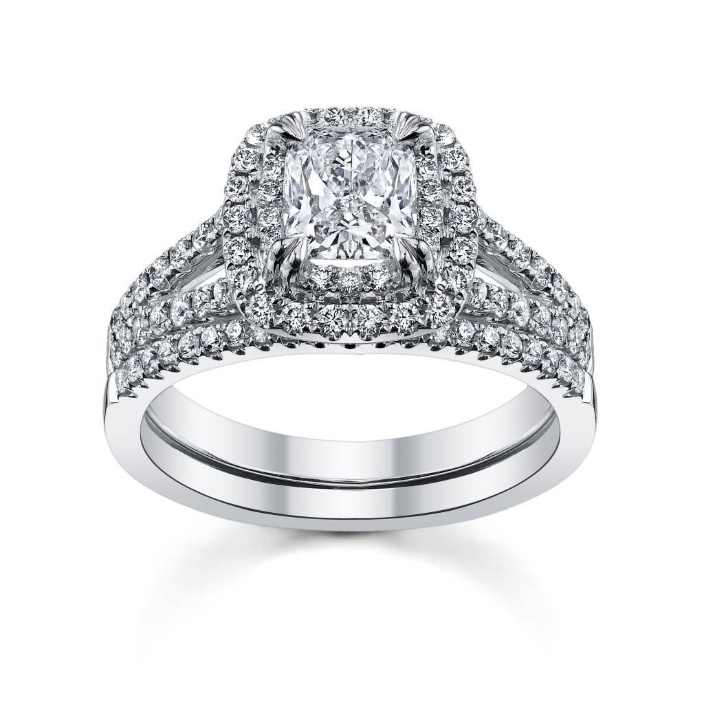 Cupid's Engagement Ring Pick For Valentine's, Day Eight: Cushion For Newest Cushion Cut Anniversary Rings (View 10 of 25)