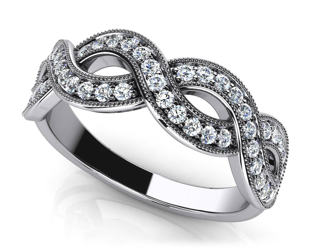 Design Your Own Diamond Anniversary Ring & Eternity Ring Throughout Most Current Anniversary Rings With Baguettes (Gallery 19 of 25)