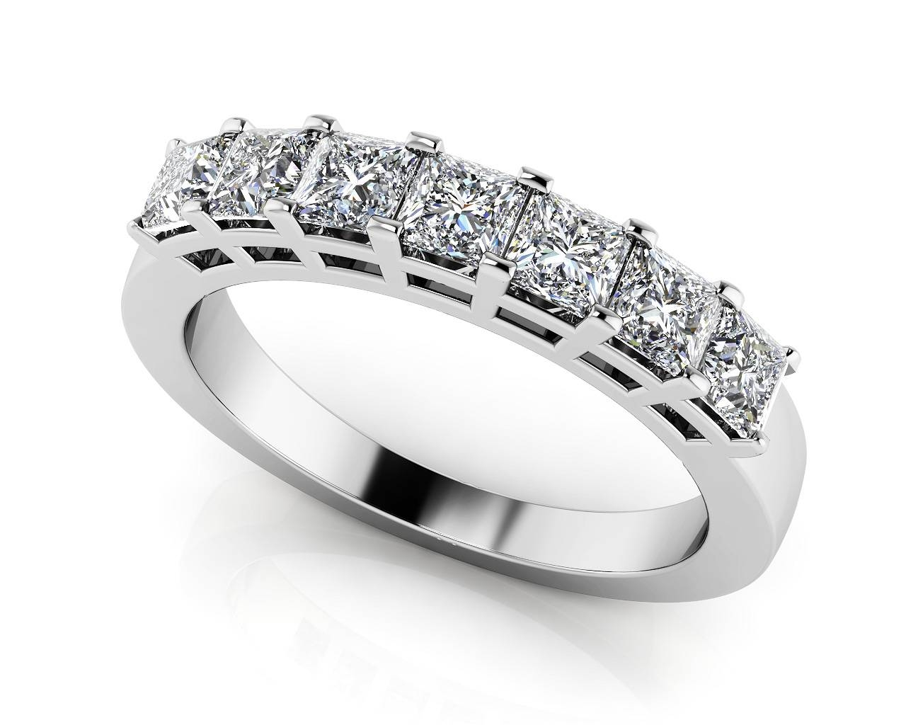 Design Your Own Diamond Anniversary Ring & Eternity Ring Within Most Up To Date Platinum Anniversary Rings (View 10 of 25)