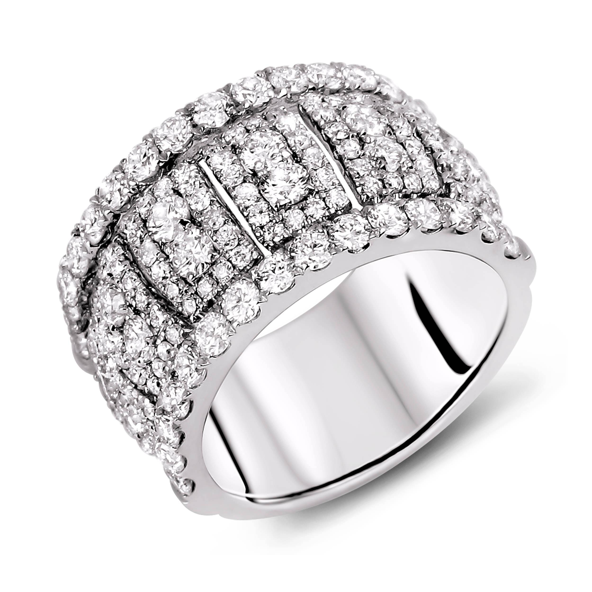 Diamond Anniversary Rings – Sgr904 – Anaya Fine Jewellery Collection For Newest Silver Anniversary Rings (View 10 of 25)