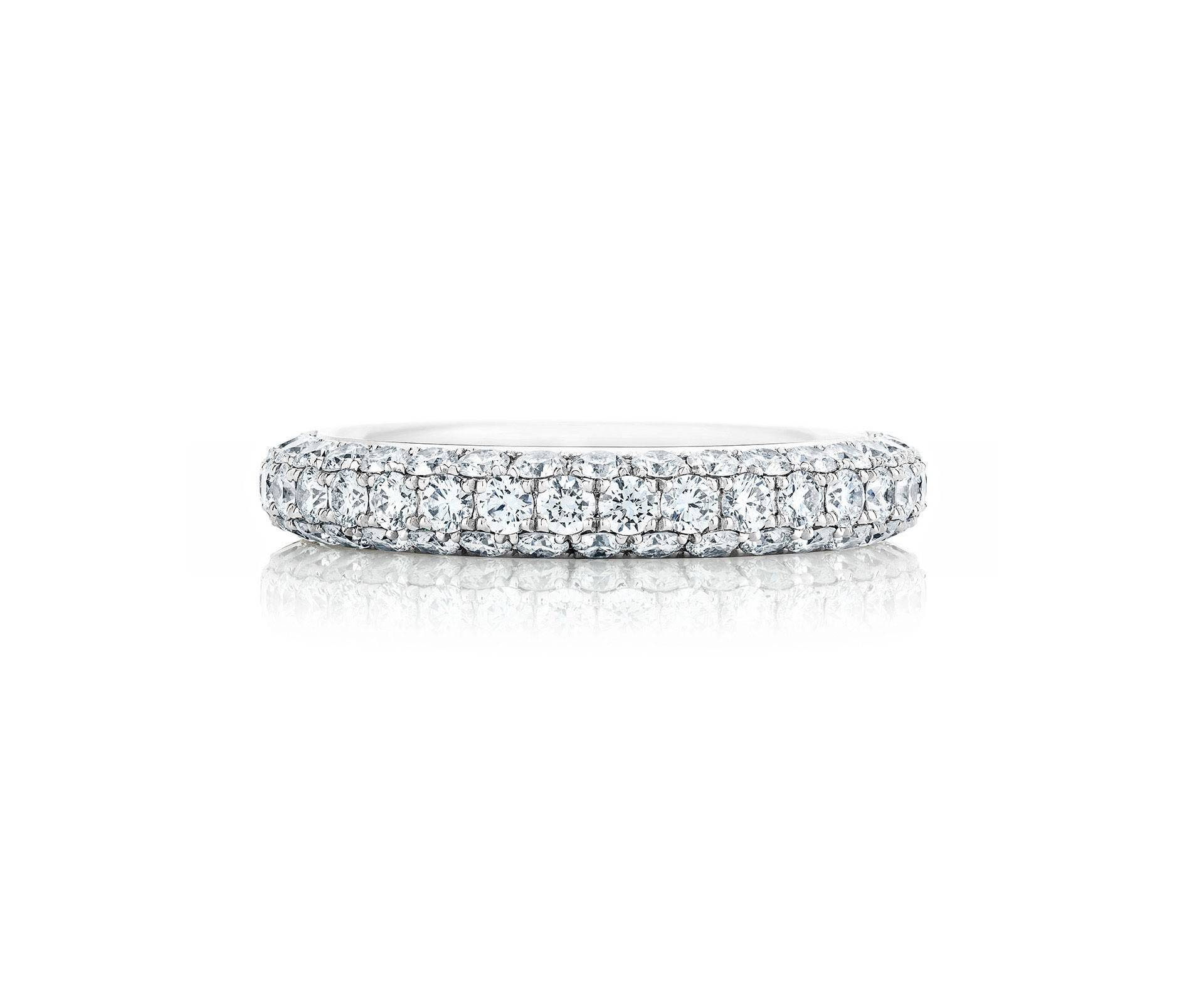 Diamond Rings And Bands For Women | De Beers Us Intended For Most Recent Pave Anniversary Rings (Gallery 13 of 25)