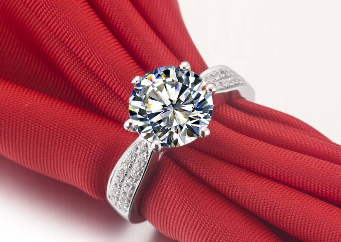 Diamonds : Striking Chocolate Diamond Anniversary Rings Awe Regarding Best And Newest Blue Nile Anniversary Rings (View 17 of 25)