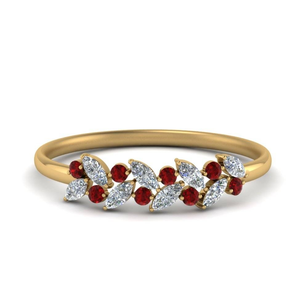 Discover Royal Collection Of Ruby Wedding Rings | Fascinating Diamonds Intended For Best And Newest Ruby And Diamond Anniversary Rings (View 8 of 25)