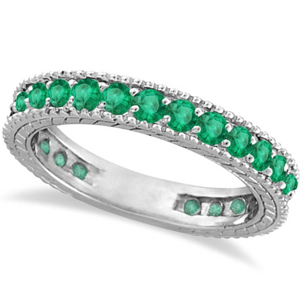 Emerald Anniversary Ring – Best And Ring Beatiful Models 2018 With Current Emerald Anniversary Rings (View 9 of 25)