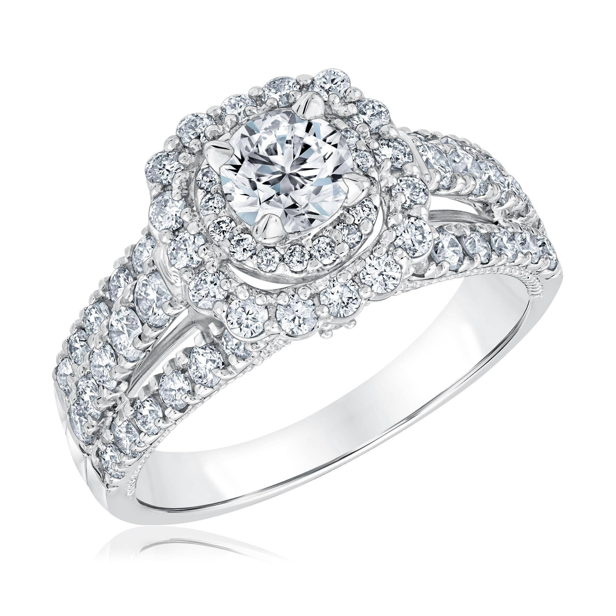 Engagement Rings Page 1 | Reeds Jewelers In Most Recent 3 Stone Anniversary Rings (Gallery 25 of 25)