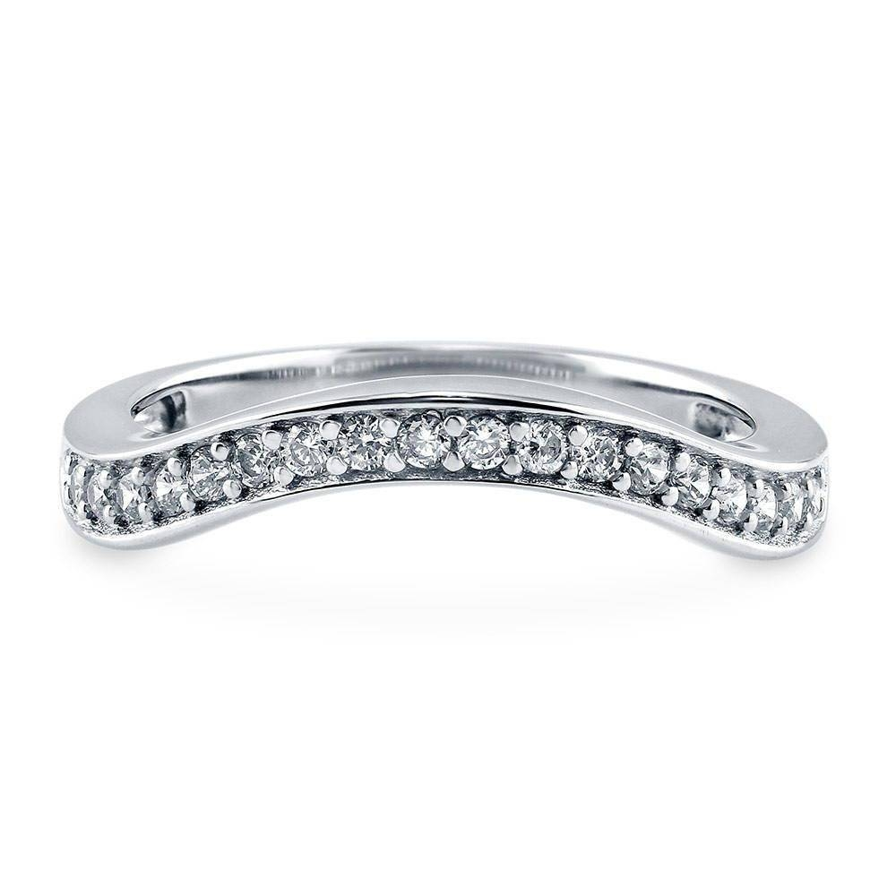 Eternity Rings: Sterling Silver & Cubic Zirconia | Berricle Pertaining To Best And Newest Cubic Zirconia Anniversary Rings (Gallery 14 of 25)