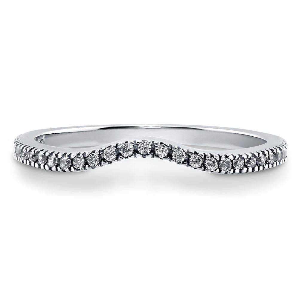 Eternity Rings: Sterling Silver & Cubic Zirconia | Berricle Regarding Most Recent Cubic Zirconia Anniversary Rings (View 16 of 25)
