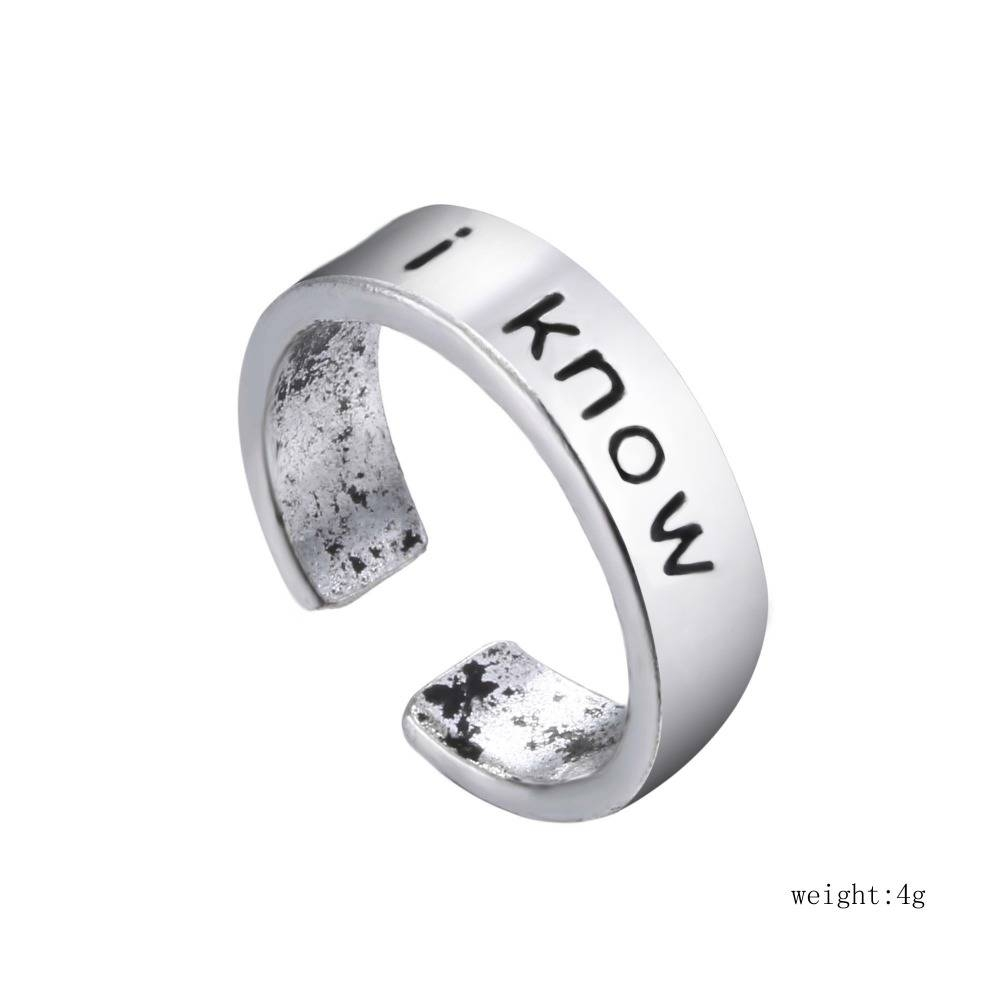 I Love You I Know Couples Rings Set Anniversary Ring Set Wedding Within 2018 Couples Anniversary Rings (Gallery 20 of 25)