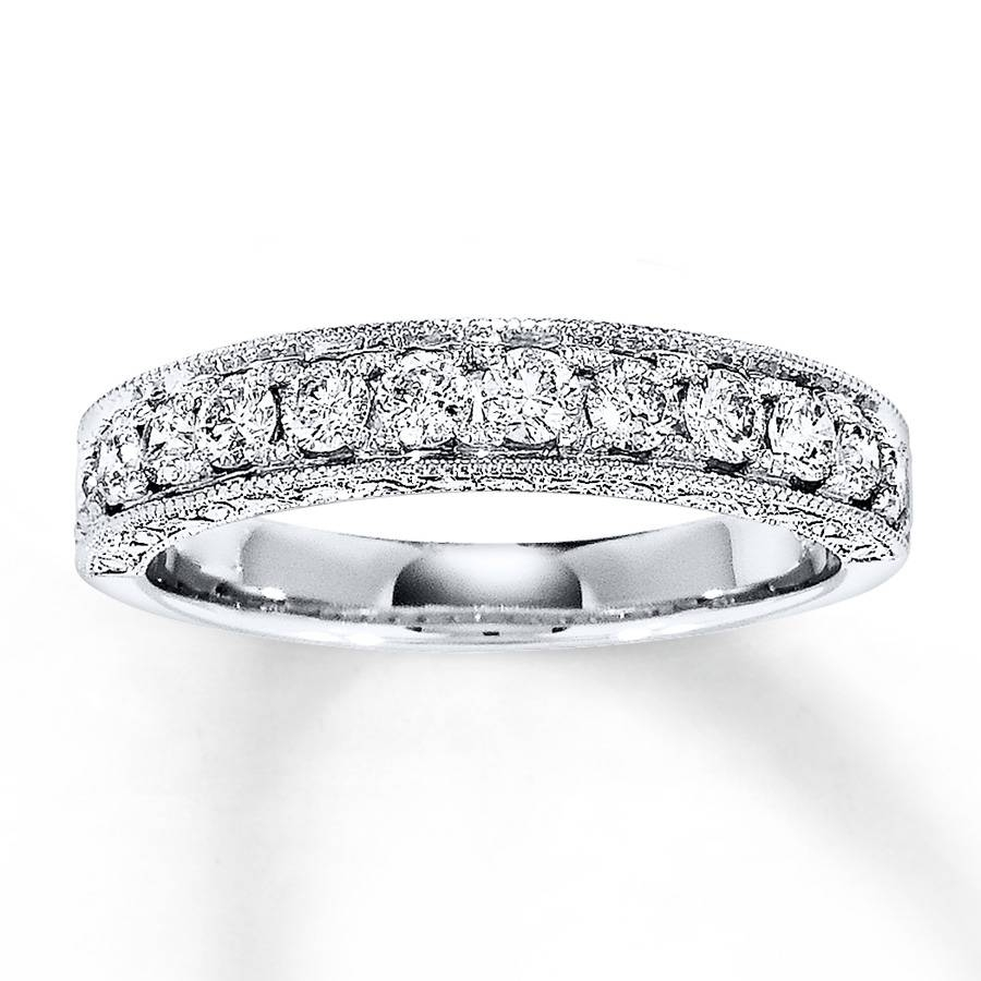 Jared – Diamond Anniversary Band 5/8 Ct Tw Round Cut 14K White Gold With Best And Newest Jared Anniversary Rings (View 13 of 25)