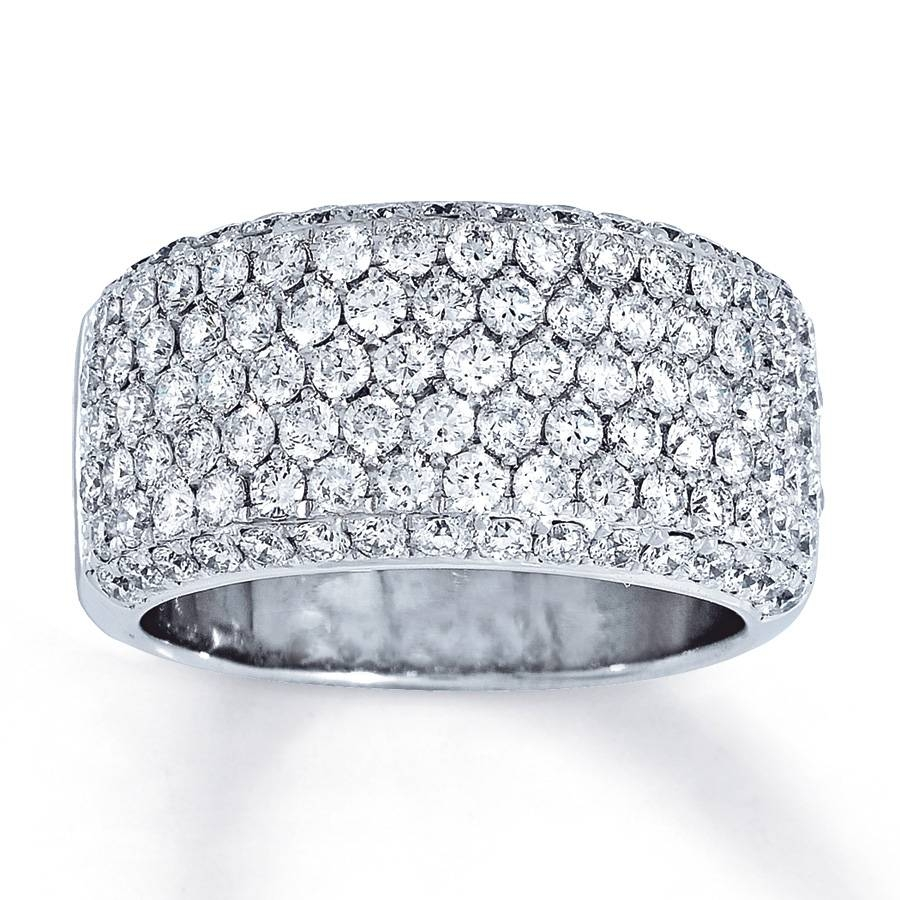 Jared – Diamond Ring 2 Ct Tw Round Cut 14K White Gold With Regard To Newest Jared Anniversary Rings (Gallery 24 of 25)