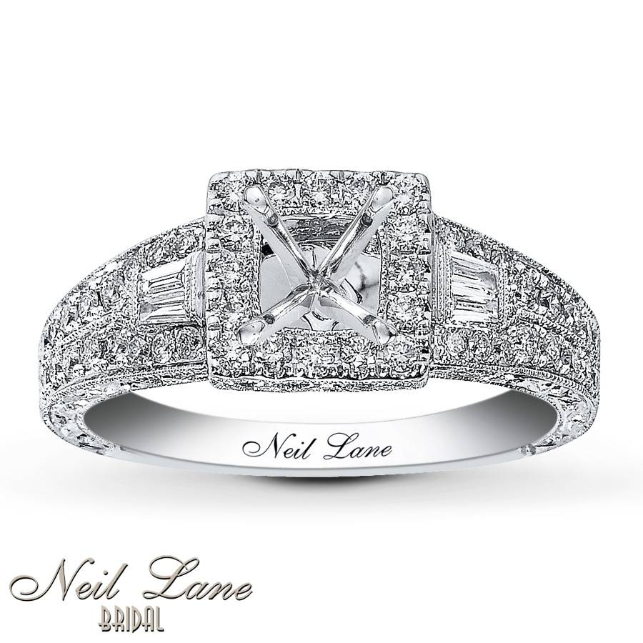 Jared – Neil Lane Ring Setting 5/8 Ct Tw Diamonds 14K White Gold With Regard To Best And Newest Neil Lane Anniversary Rings (View 12 of 25)