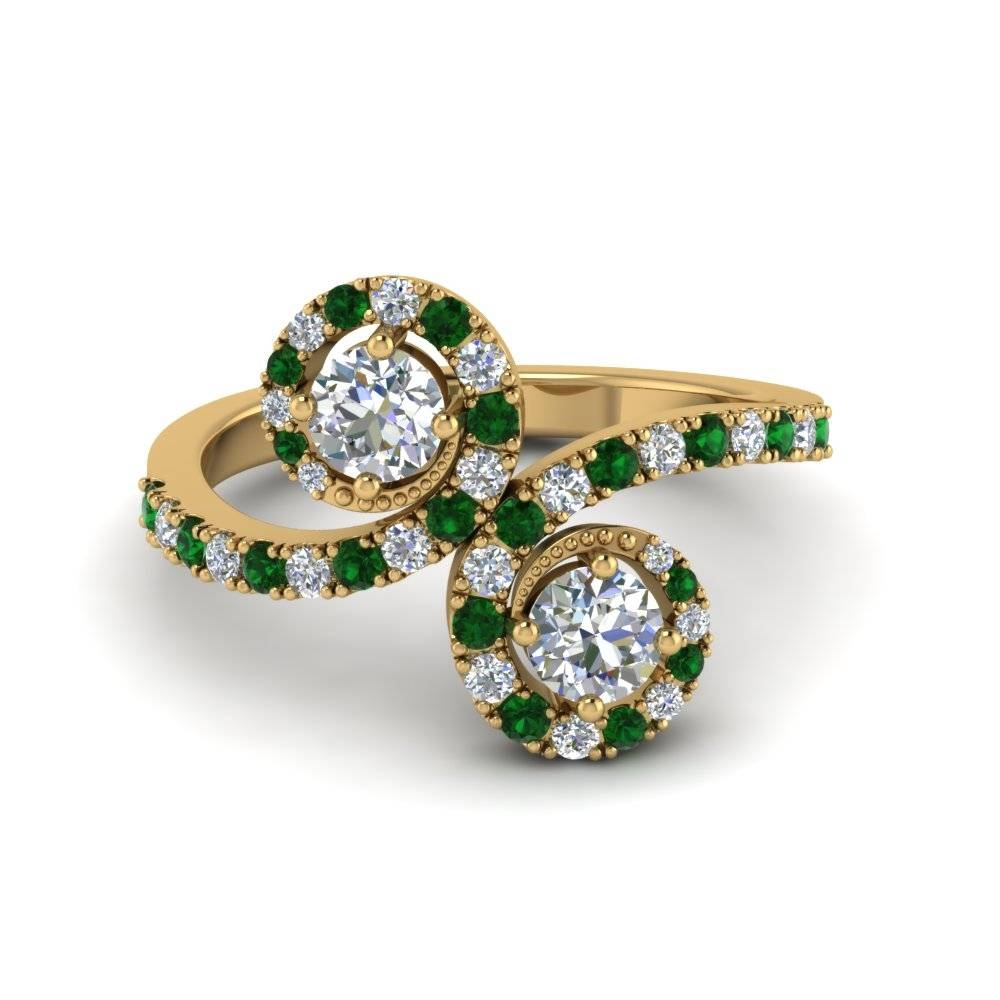 Jewelry Gifts | Fascinating Diamonds In Best And Newest Emerald Anniversary Rings (Gallery 23 of 25)
