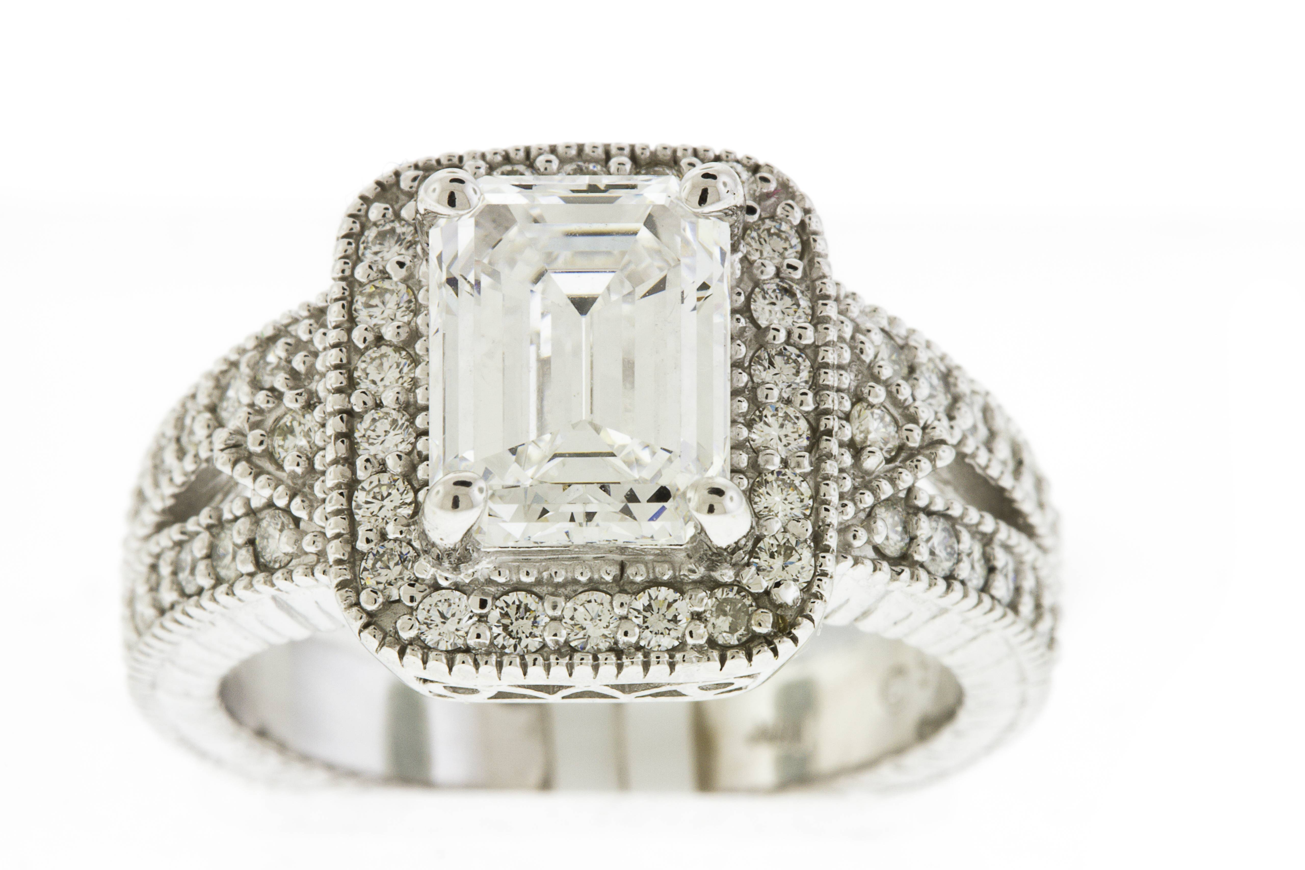 Jewelrysteven – Categories – Engagement Rings With Regard To Recent Emerald Cut Diamond Anniversary Rings (View 10 of 25)