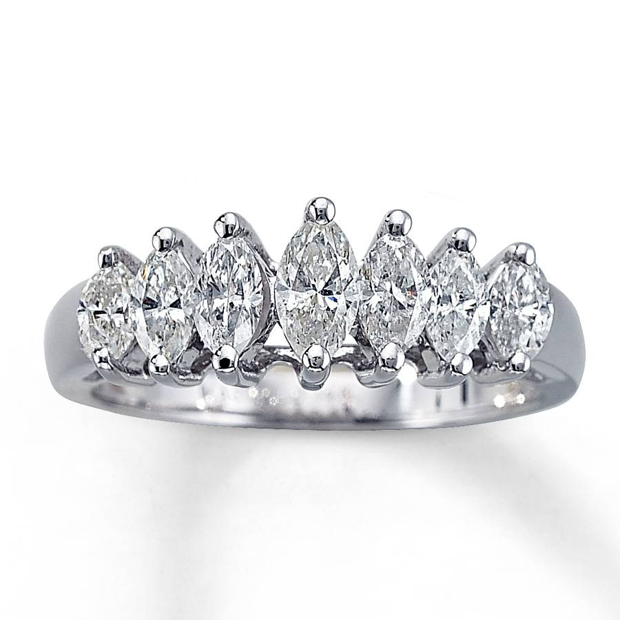 Featured Photo of Marquise Diamond Anniversary Rings