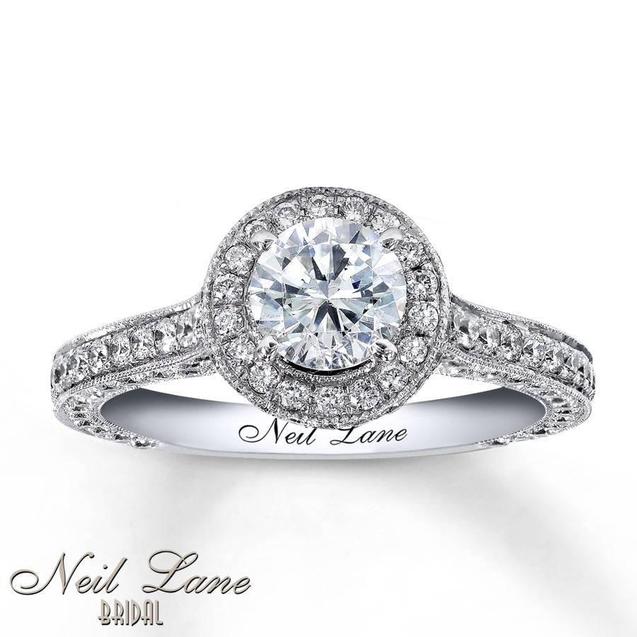 Kay – Neil Lane Engagement Ring 1 3/4 Ct Tw Diamonds 14K White Gold With Best And Newest Neil Lane Anniversary Rings (View 17 of 25)