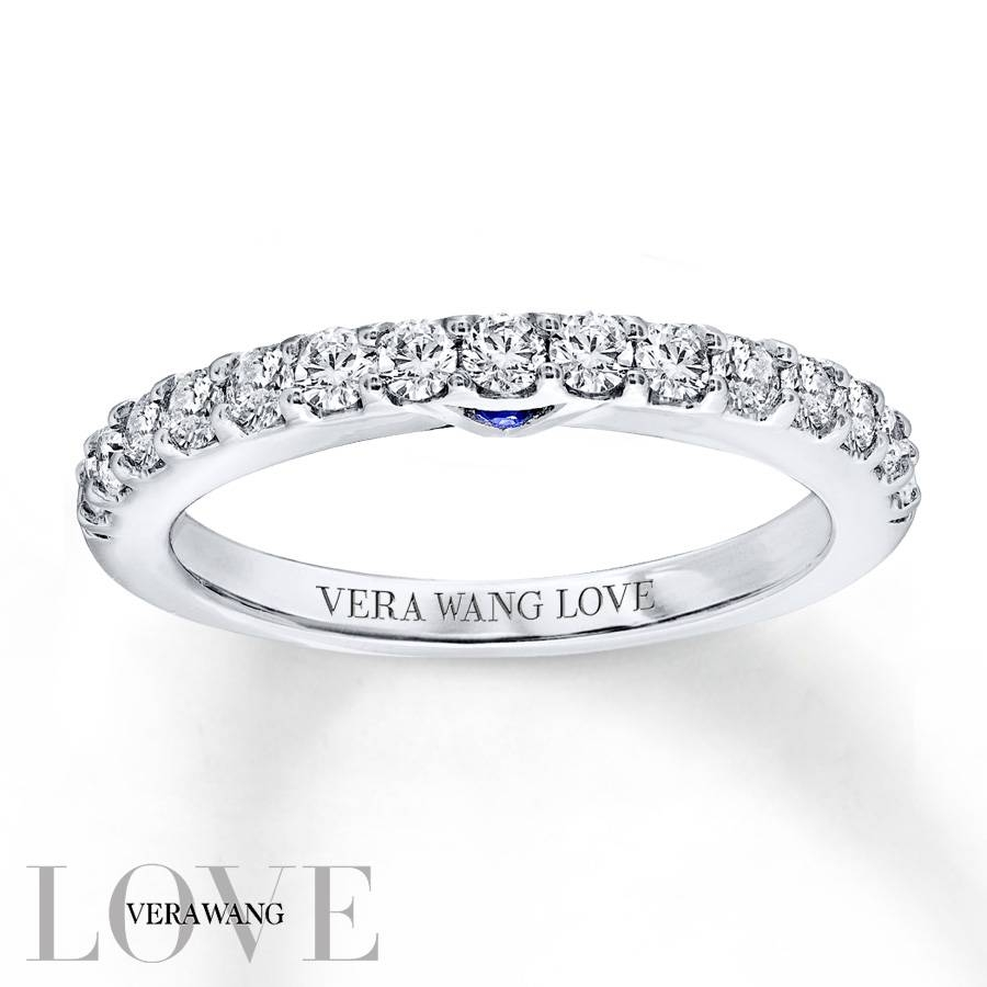 Kay – Vera Wang Love 1/2 Carat Tw Diamonds 14K White Gold Band Throughout Current Vera Wang Anniversary Rings (Gallery 7 of 25)
