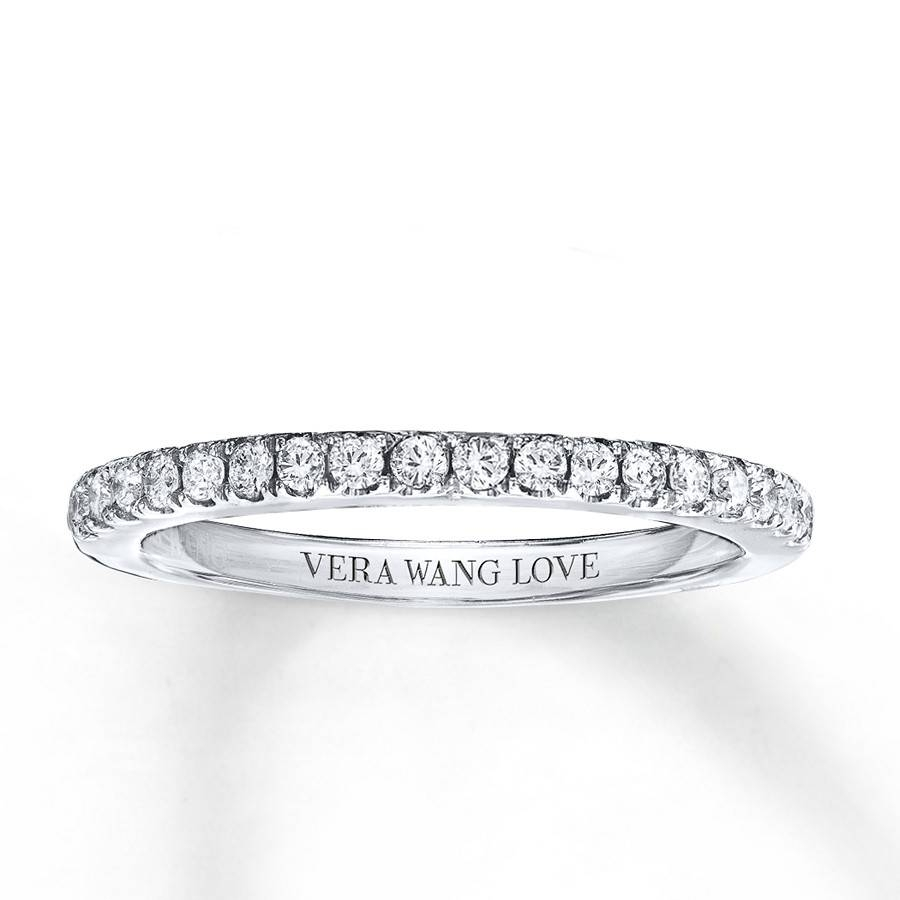 Kay – Vera Wang Love 1/4 Carat Tw Diamonds 14K White Gold Band With Regard To 2018 Vera Wang Anniversary Rings (View 12 of 25)