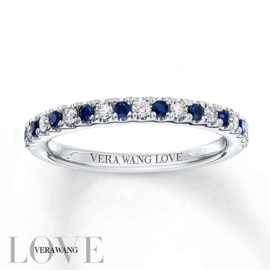Kay – Vera Wang Love 1/8 Carat Tw Diamonds 14K White Gold Band Within Most Popular Vera Wang Anniversary Rings (View 13 of 25)