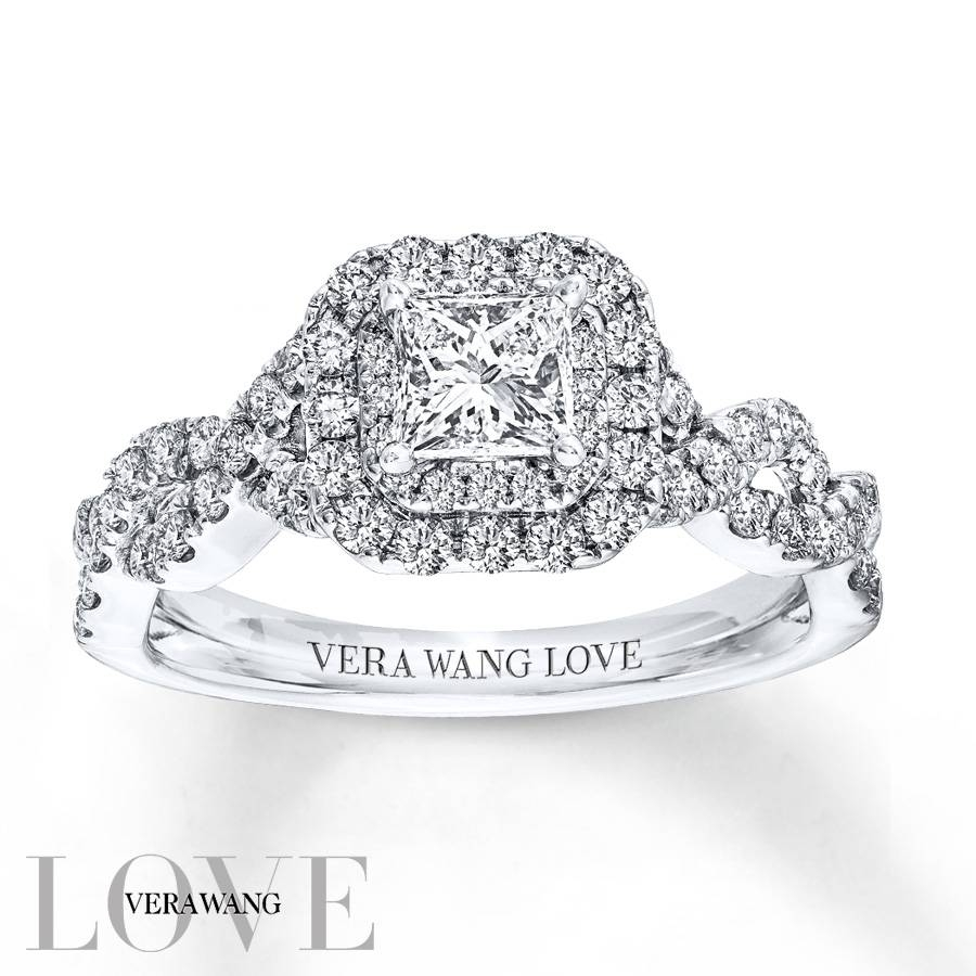 Kay – Vera Wang Love 1 Carat Tw Diamonds 14K White Gold Ring In Most Up To Date Vera Wang Anniversary Rings (View 7 of 25)