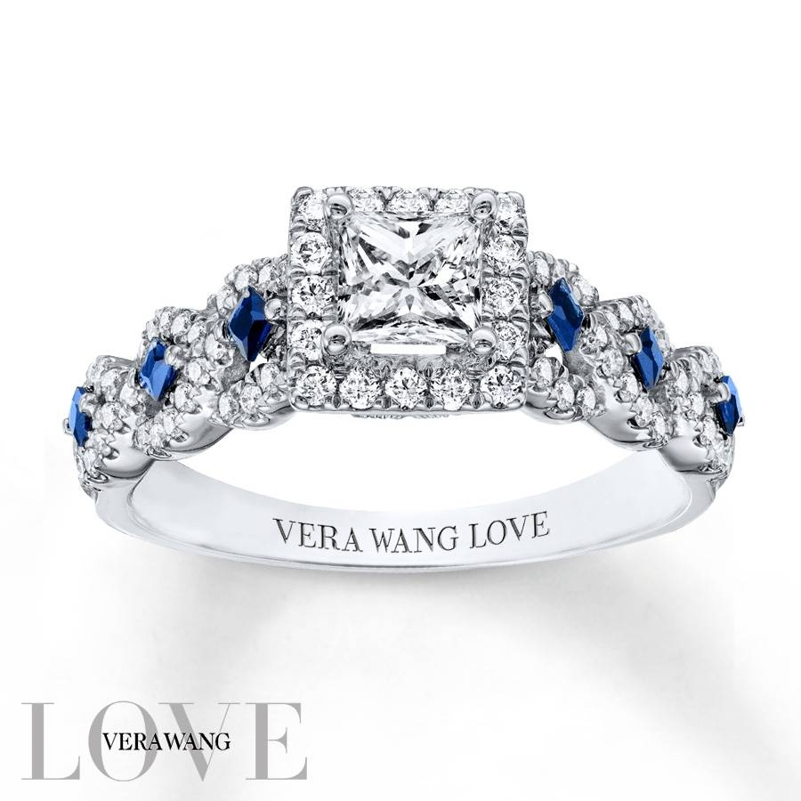 Kay – Vera Wang Love 1 Carat Tw Diamonds 14K White Gold Ring Pertaining To Most Recent Vera Wang Anniversary Rings (Gallery 1 of 25)