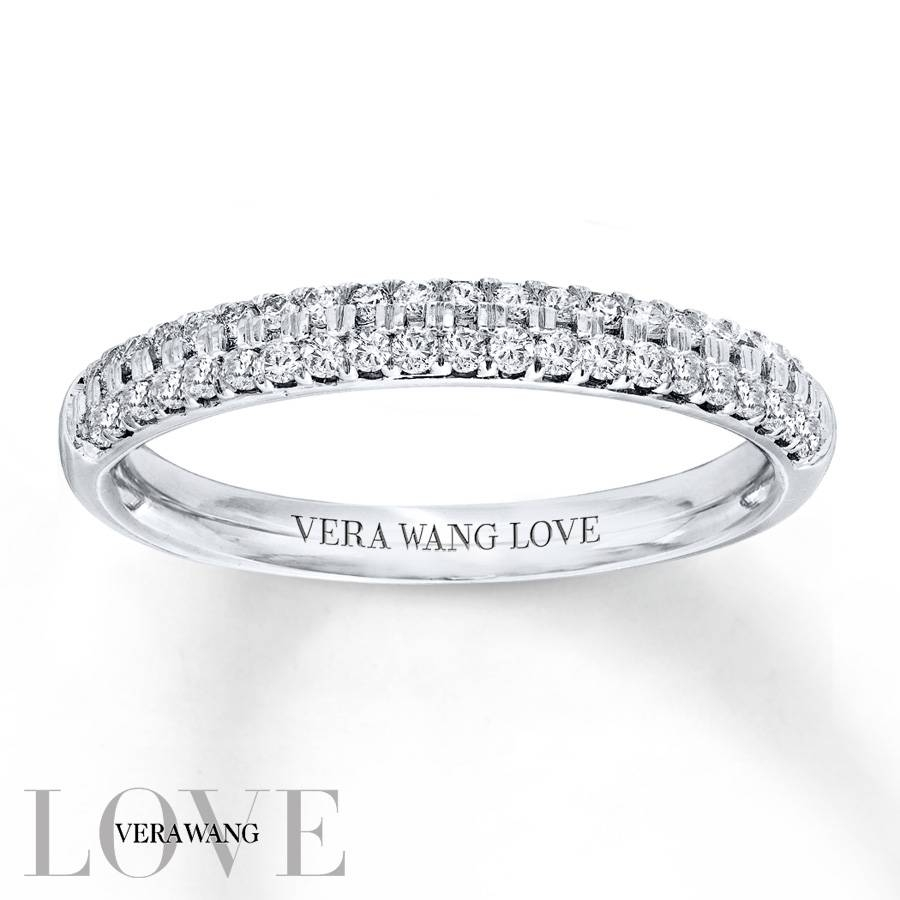 Kay – Vera Wang Love 3/8 Carat Tw Diamonds 14K White Gold Band Regarding 2018 Vera Wang Anniversary Rings (View 15 of 25)