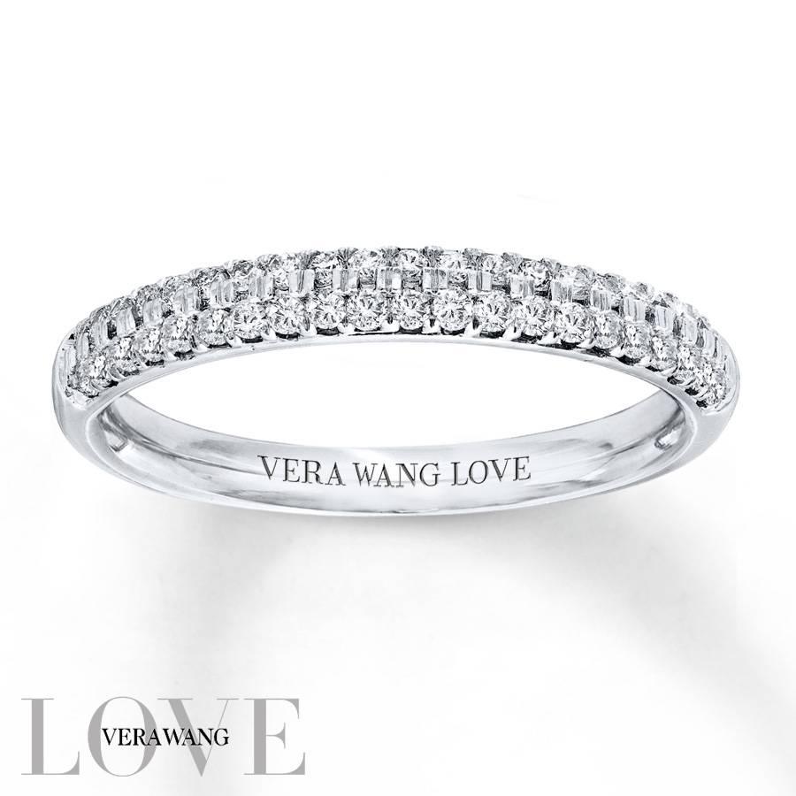 Kay – Vera Wang Love 3/8 Carat Tw Diamonds 14k White Gold Band Regarding 2018 Vera Wang Anniversary Rings (View 13 of 25)
