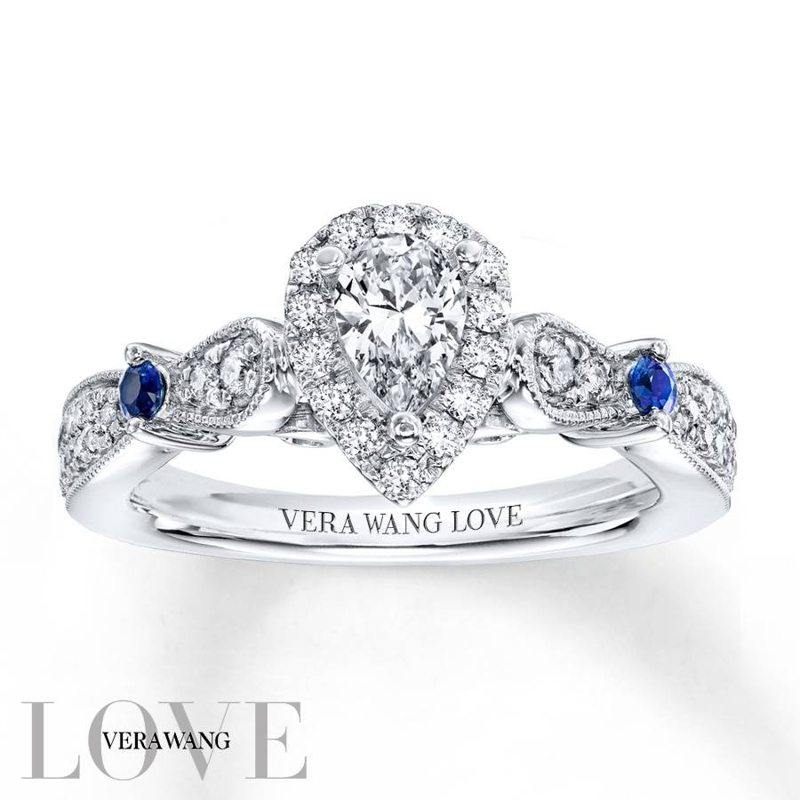 Kay – Vera Wang Love 5/8 Ct Tw Diamonds 14K White Gold Within Most Up To Date Vera Wang Anniversary Rings (View 16 of 25)