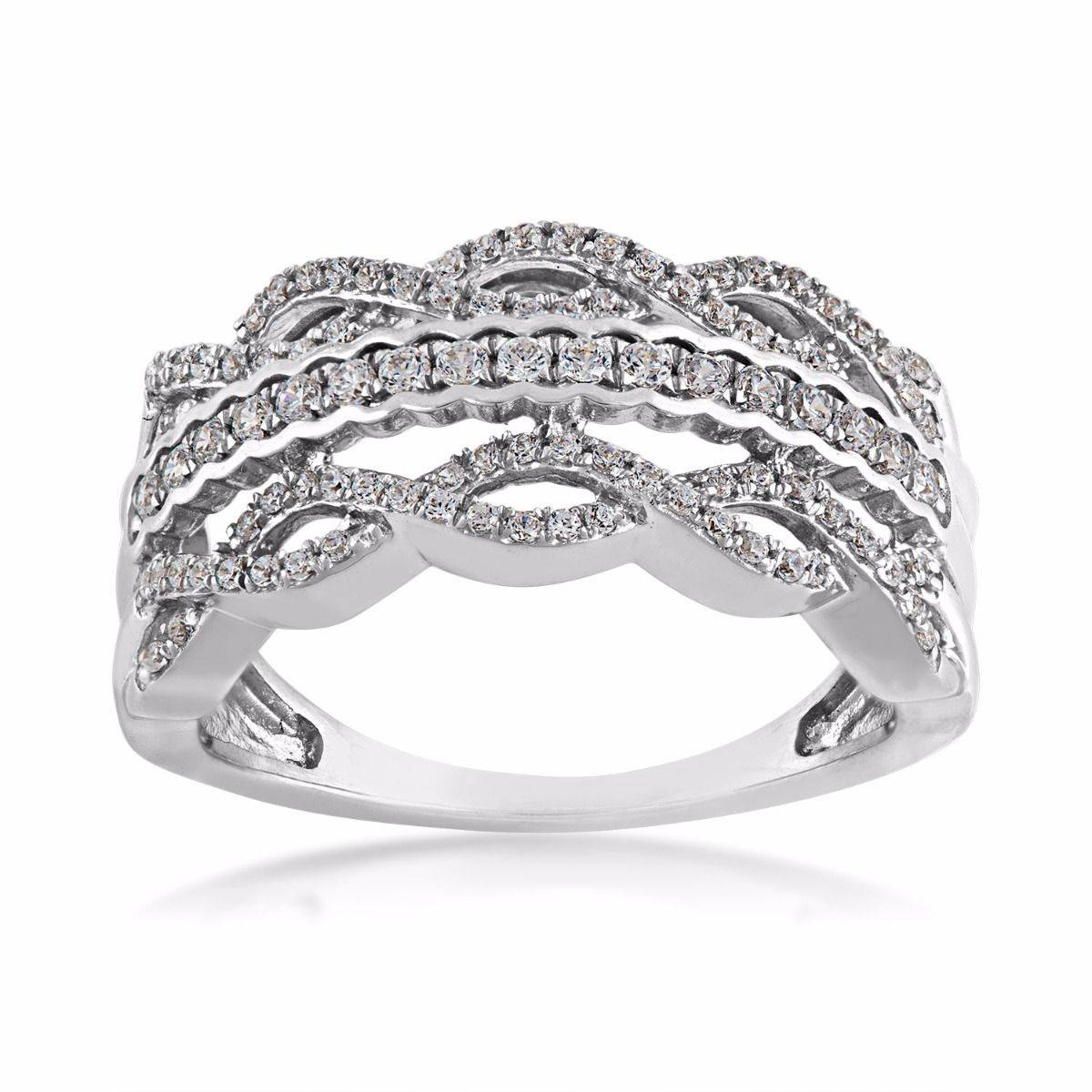 Ladies Diamond Anniversary Ring | Riddle's Jewelry With Regard To Best And Newest Gold Anniversary Rings (View 20 of 25)