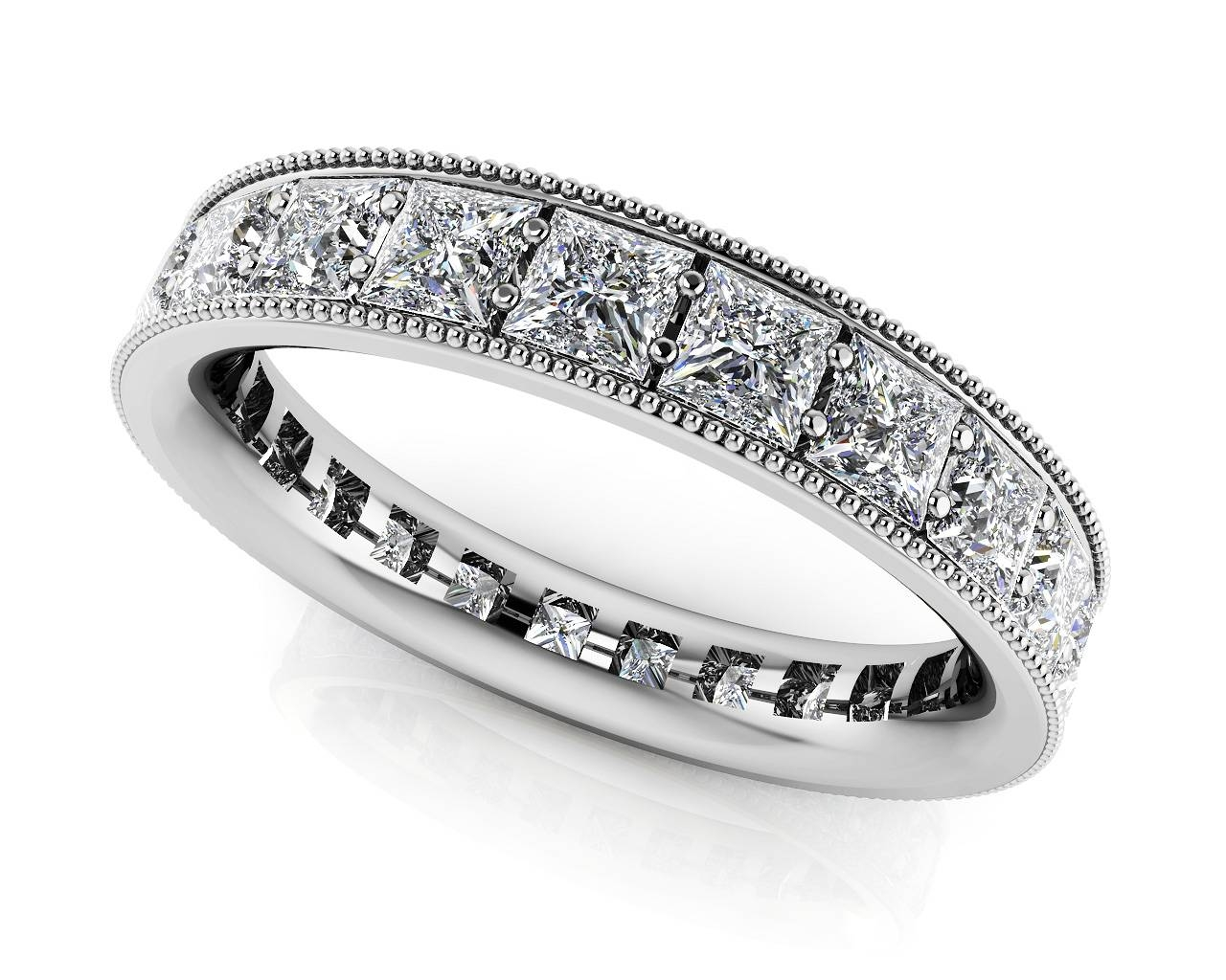 Large Collection Of Quality Diamond Eternity Rings & Bands Intended For Best And Newest Modern Anniversary Rings (Gallery 15 of 25)