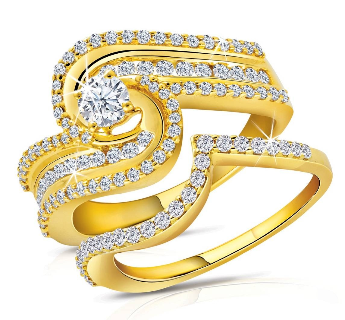 Latest World Fashions: Engagement Gold Rings Within Newest Couples Anniversary Rings (View 12 of 25)