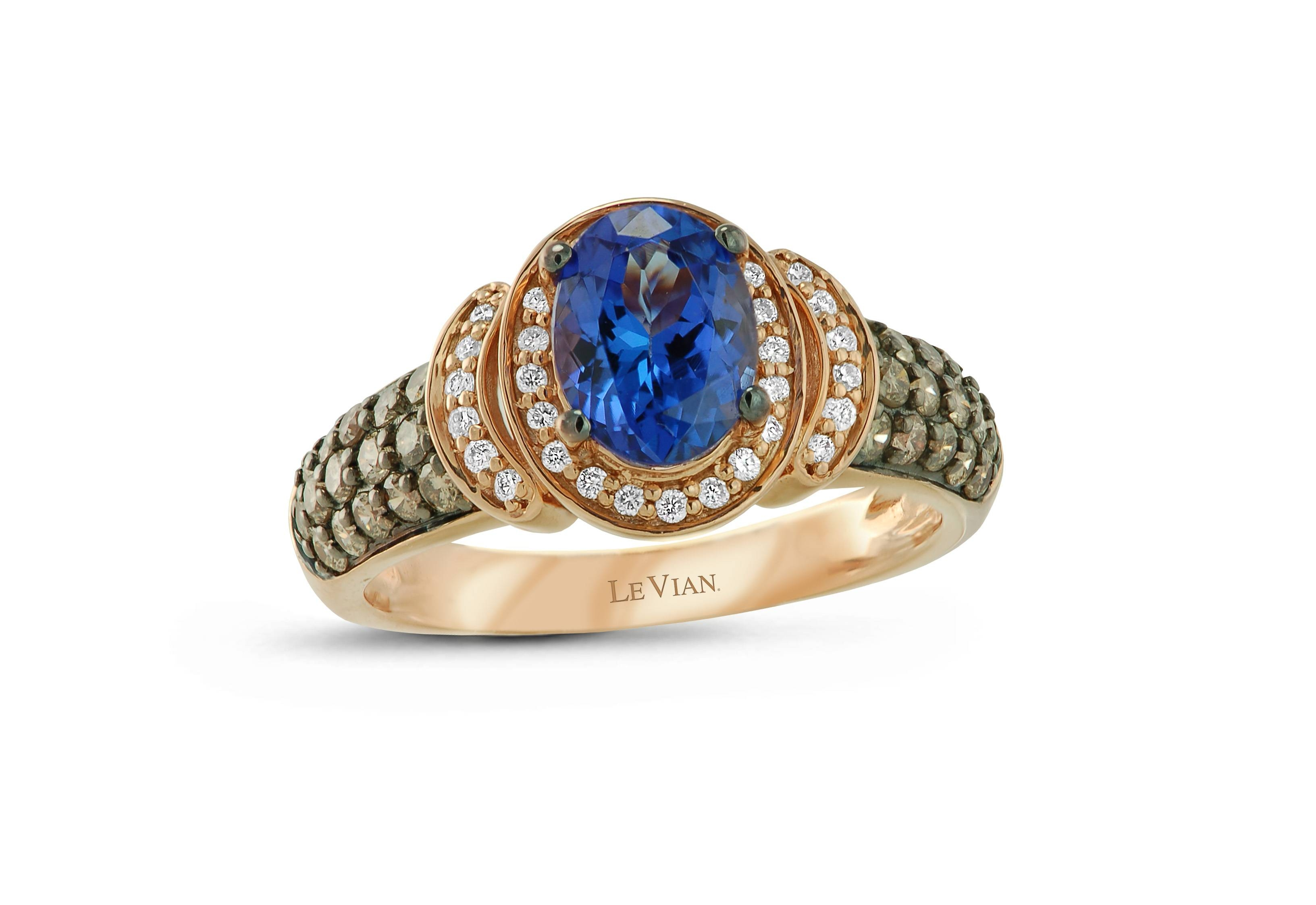 Levian® Blueberry Tanzanite &  (View 23 of 25)