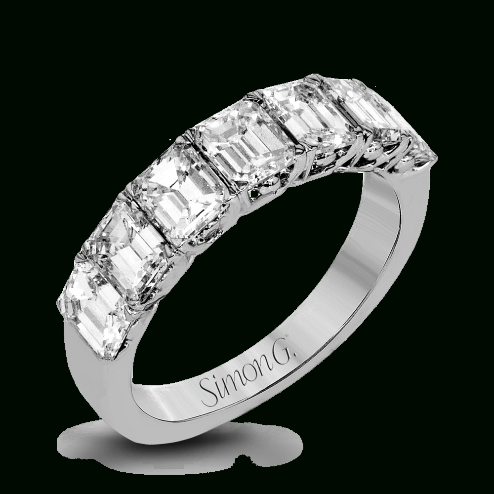 Lr1056 Anniversary Band | Simon G. Jewelry Regarding Most Recent Emerald Anniversary Rings (Gallery 10 of 25)