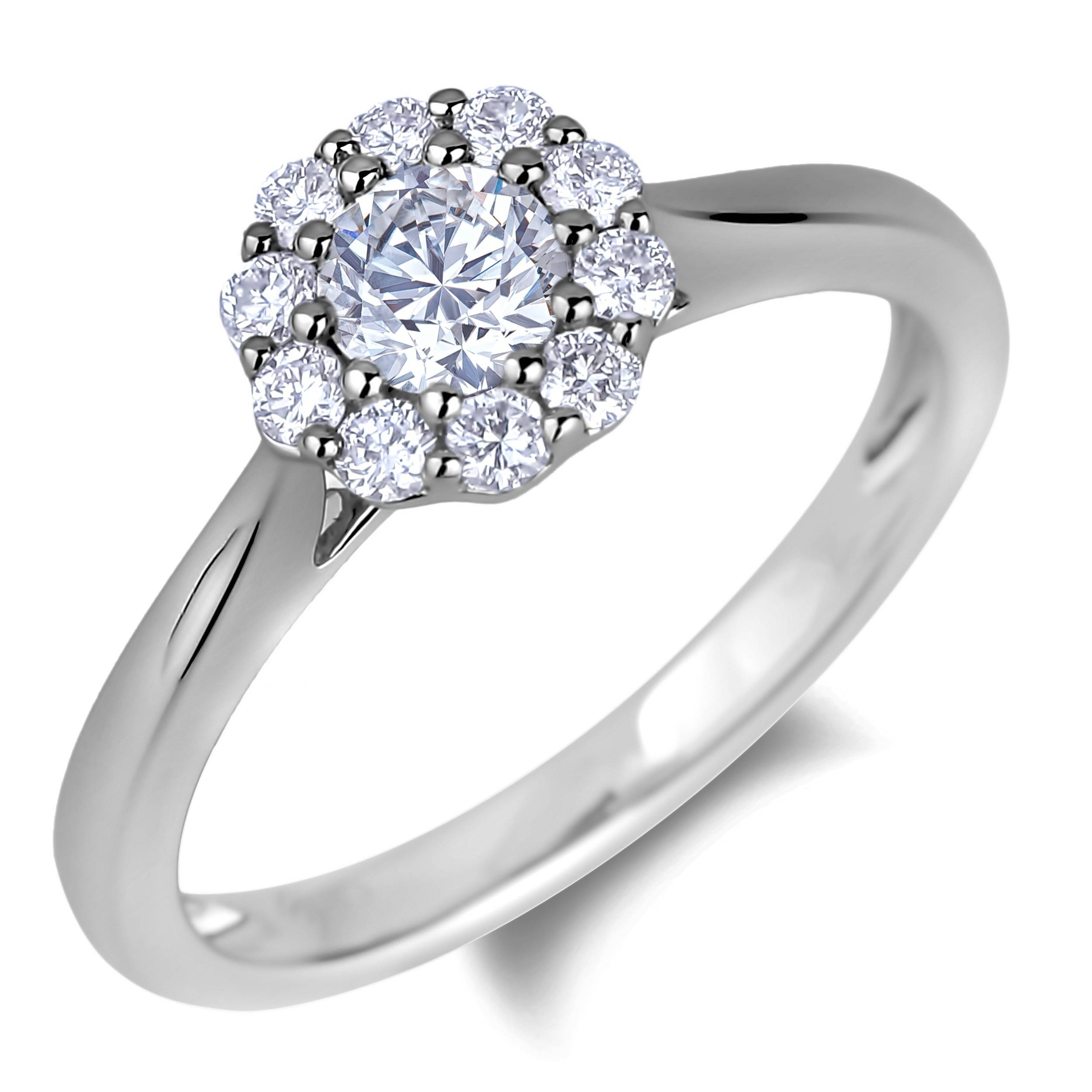 Lugaro | 30Th Anniversary Collection Canadian Diamond Ring With Most Up To Date 30Th Anniversary Rings (View 11 of 25)