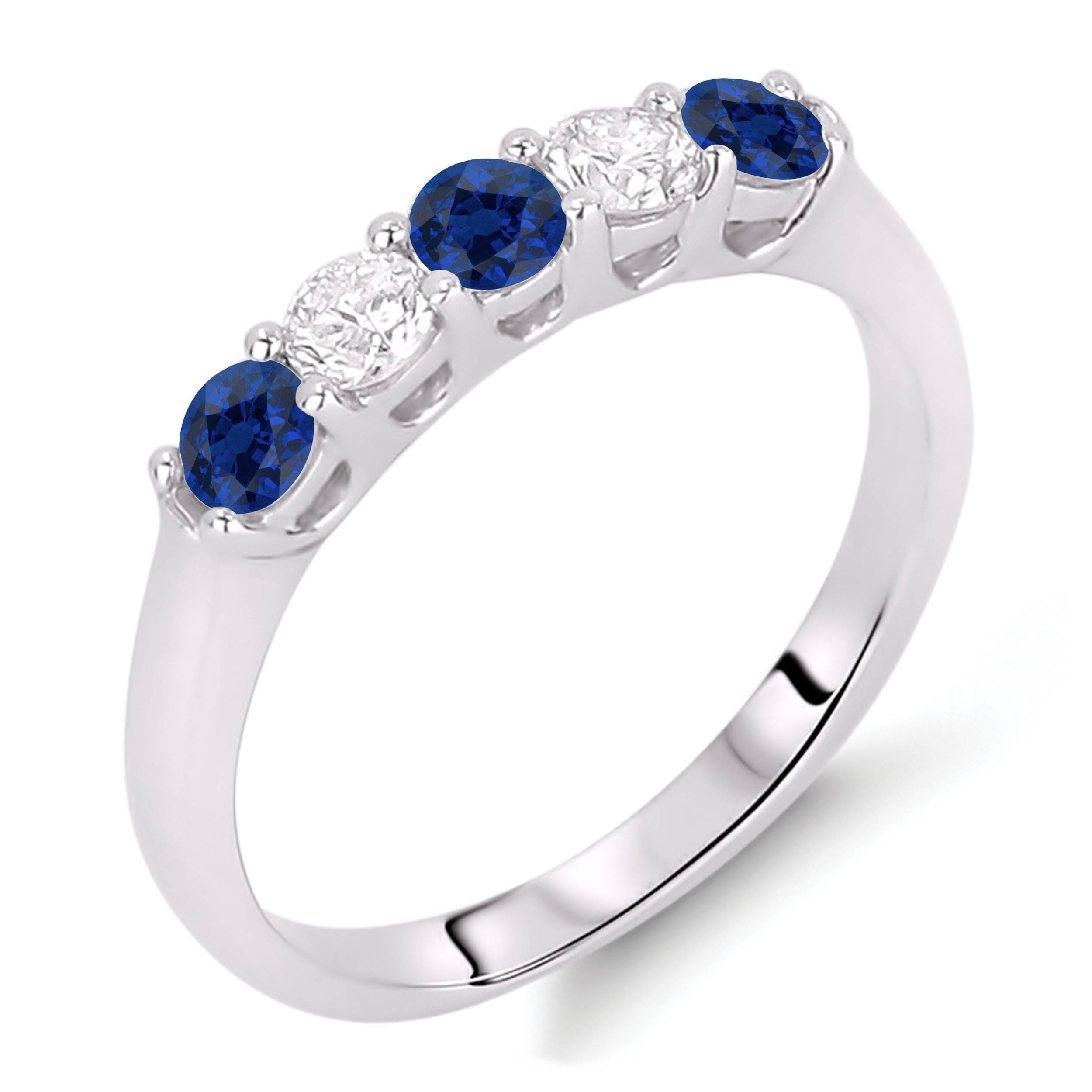 Lugaro | Sapphire Ring Intended For Recent Sapphire And Diamond Anniversary Rings (View 16 of 25)