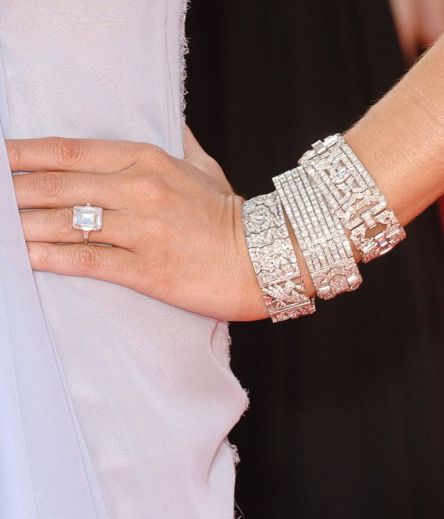 Melania Trump's 10 Year Anniversary Diamond Ring | Popsugar Fashion With Recent First Year Anniversary Rings (View 15 of 25)