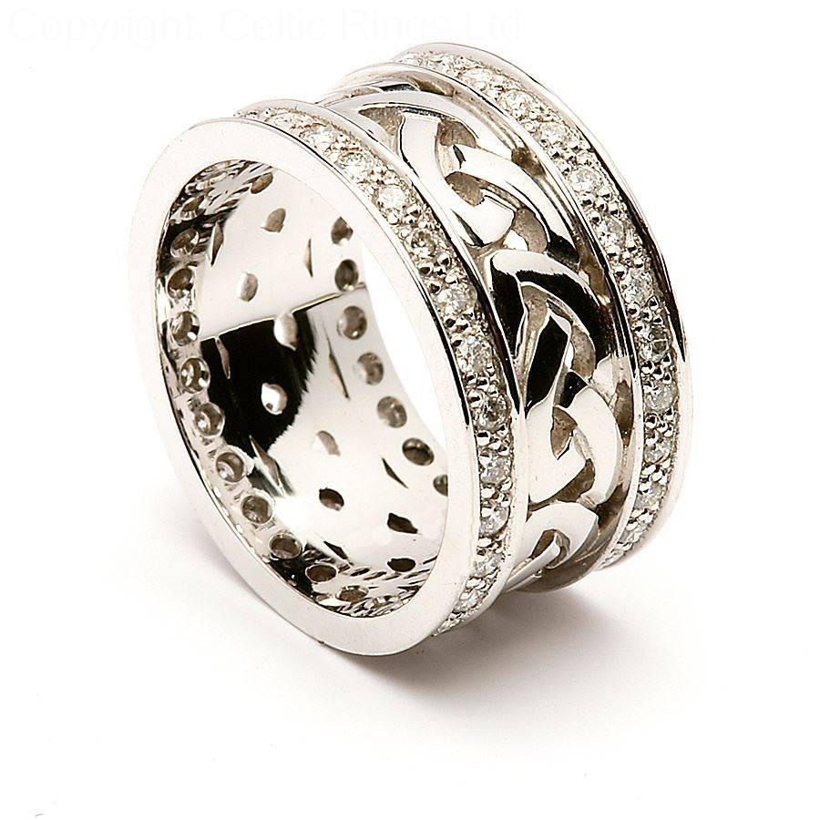 Featured Photo of Celtic Anniversary Rings