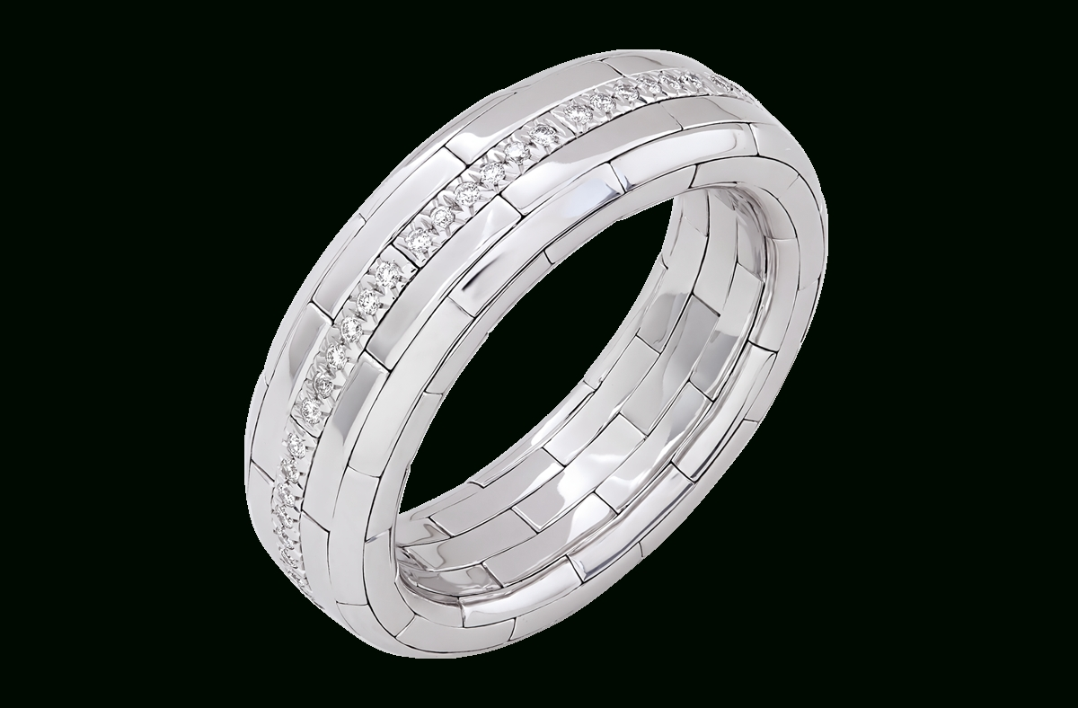 Men's Embrace Band – Nirav Modi In Newest Anniversary Rings For Men (View 15 of 25)